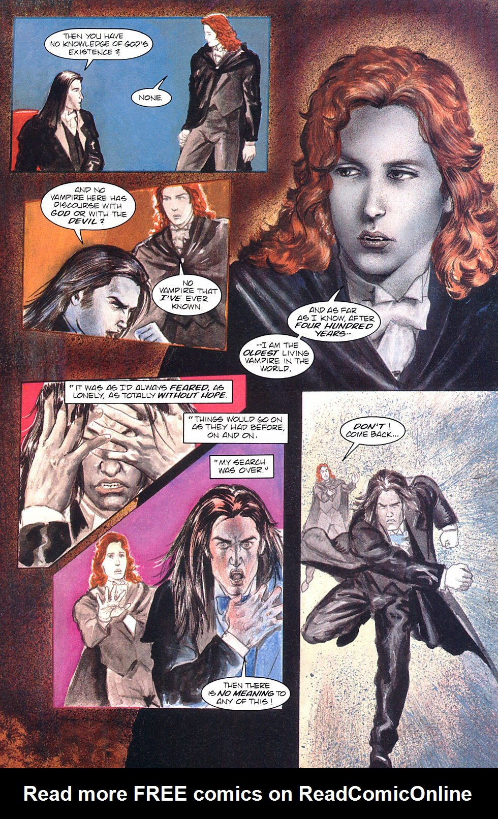 Read online Anne Rice's Interview with the Vampire comic -  Issue #8 - 27