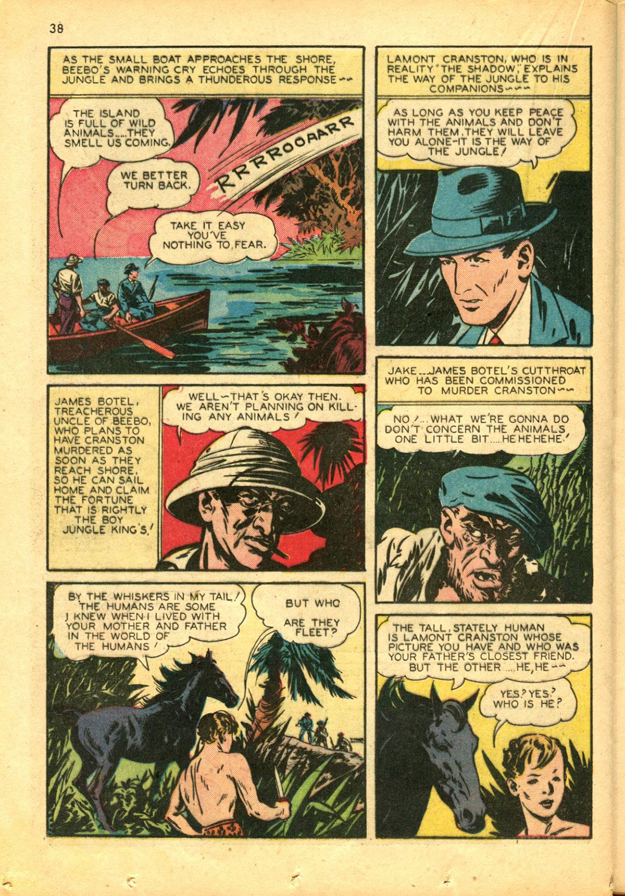 Read online Shadow Comics comic -  Issue #30 - 38