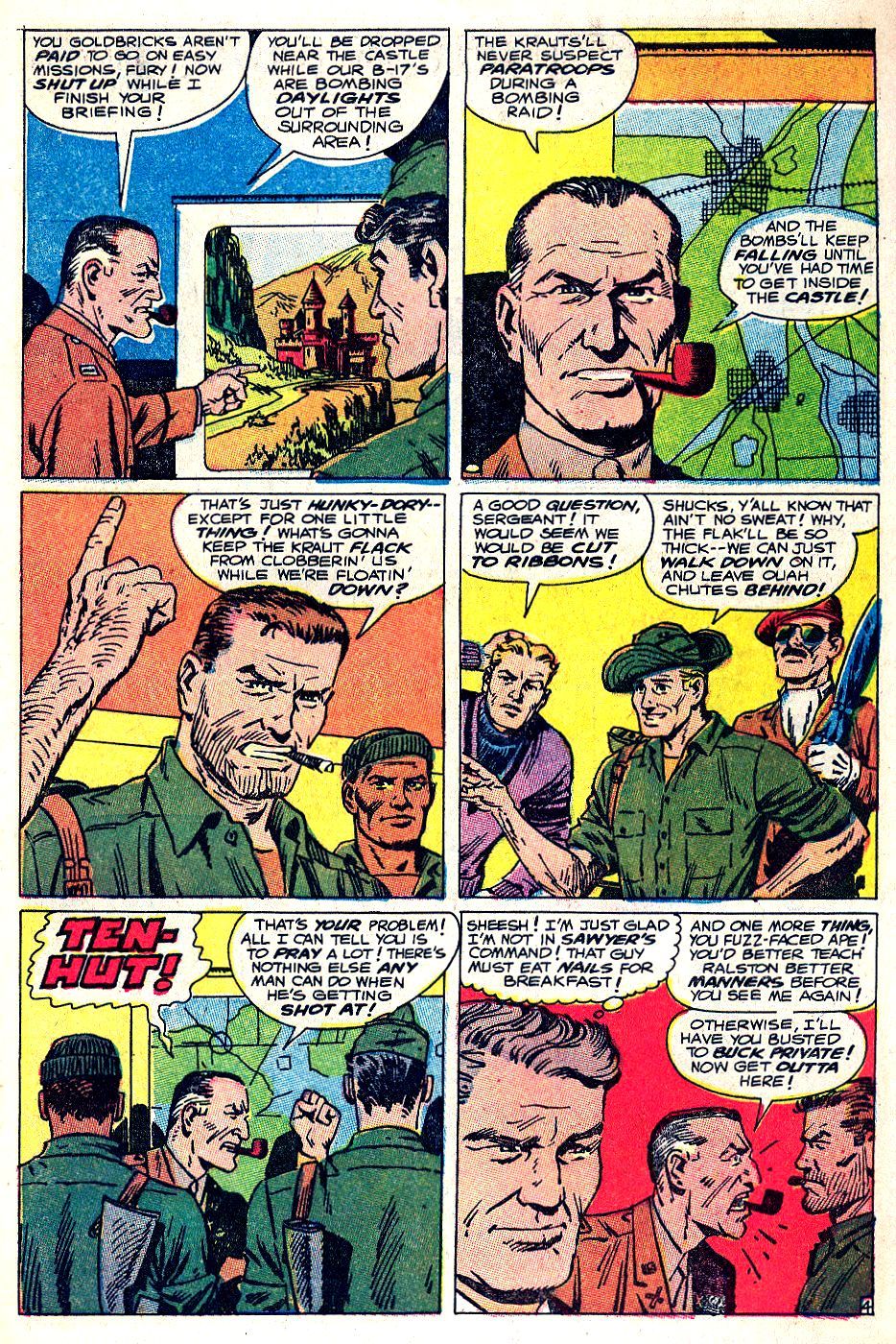 Read online Sgt. Fury comic -  Issue #53 - 7