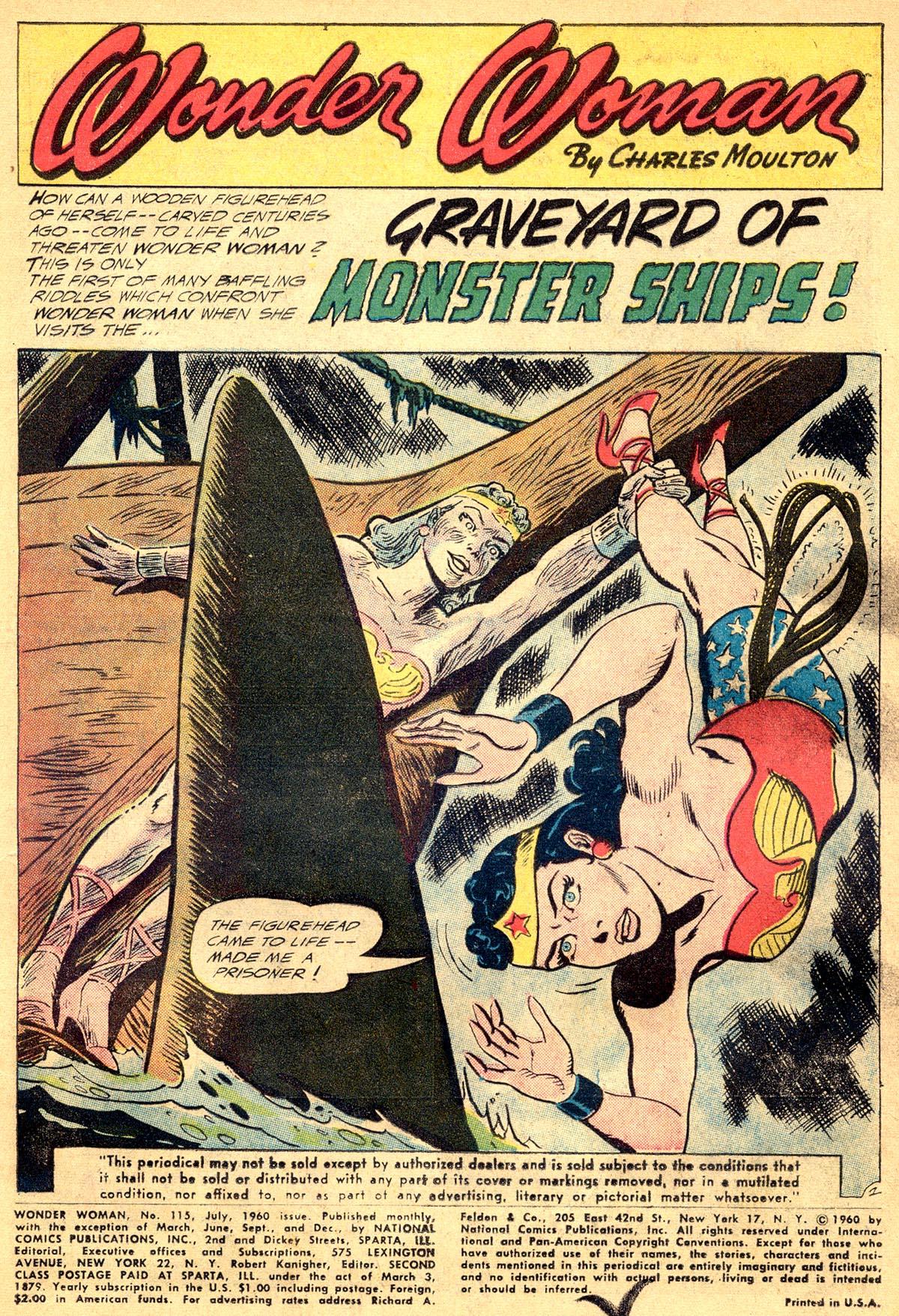 Read online Wonder Woman (1942) comic -  Issue #115 - 3