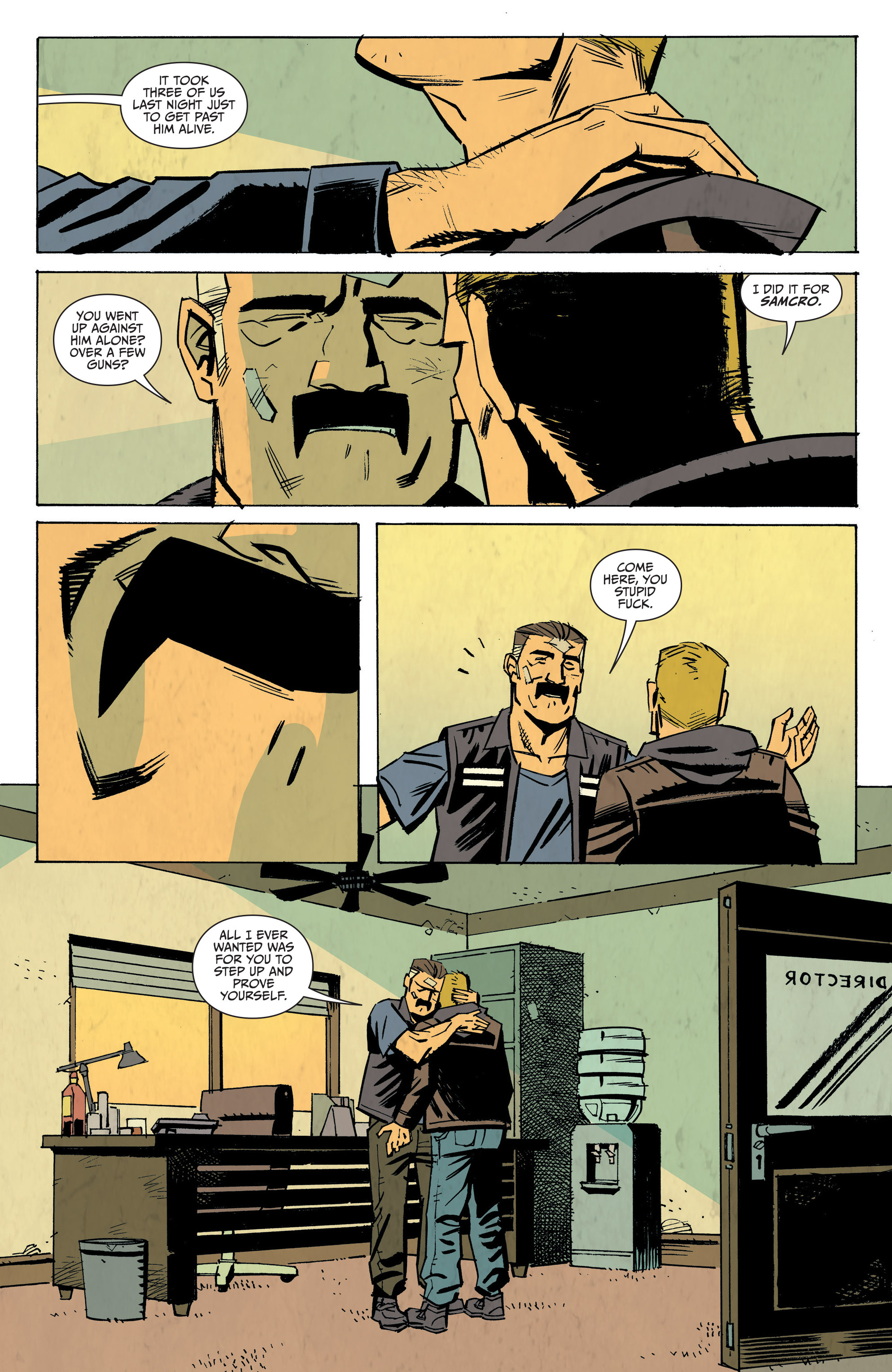 Read online Sons of Anarchy: Redwood Original comic -  Issue #8 - 16