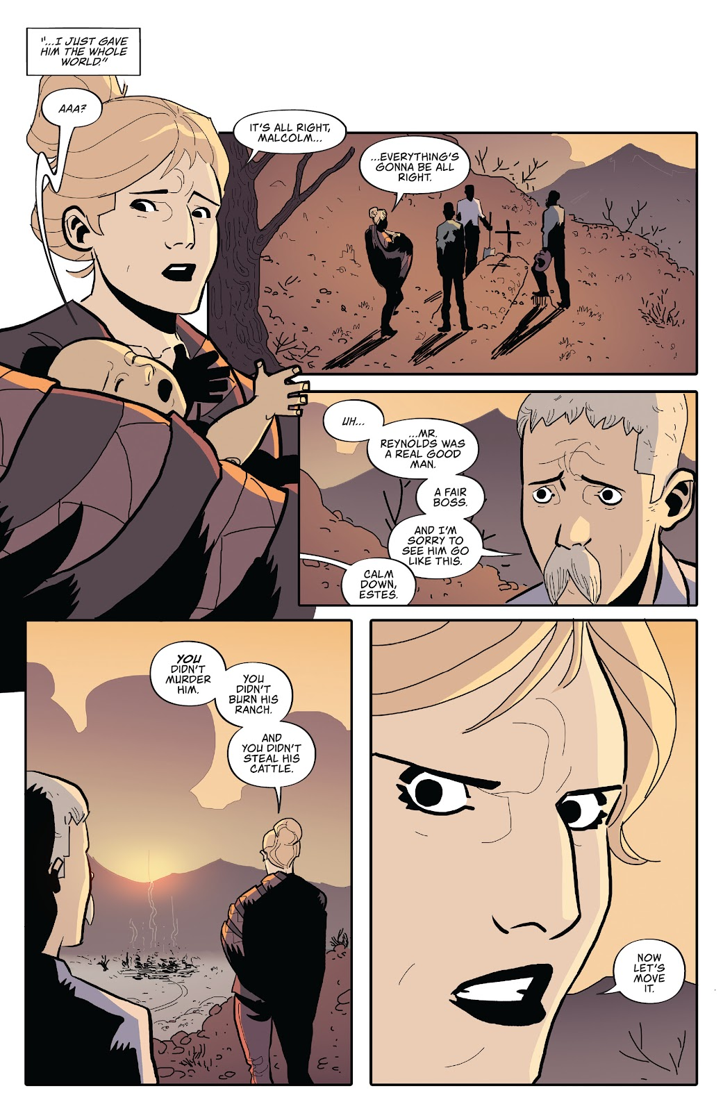 Read online Firefly: The Outlaw Ma Reynolds comic -  Issue # Full - 17