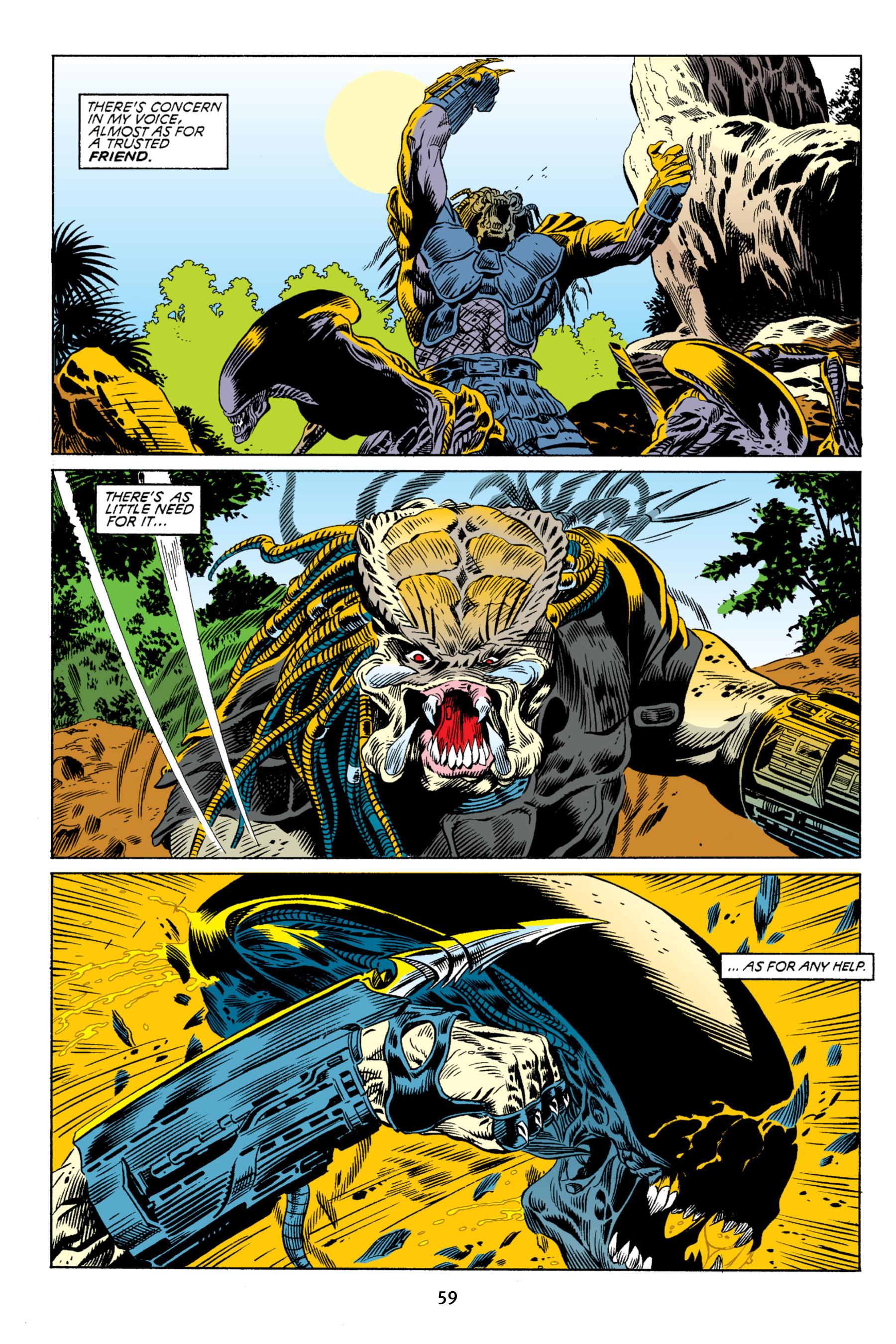 Read online Aliens vs. Predator Omnibus comic -  Issue # _TPB 2 Part 1 - 59