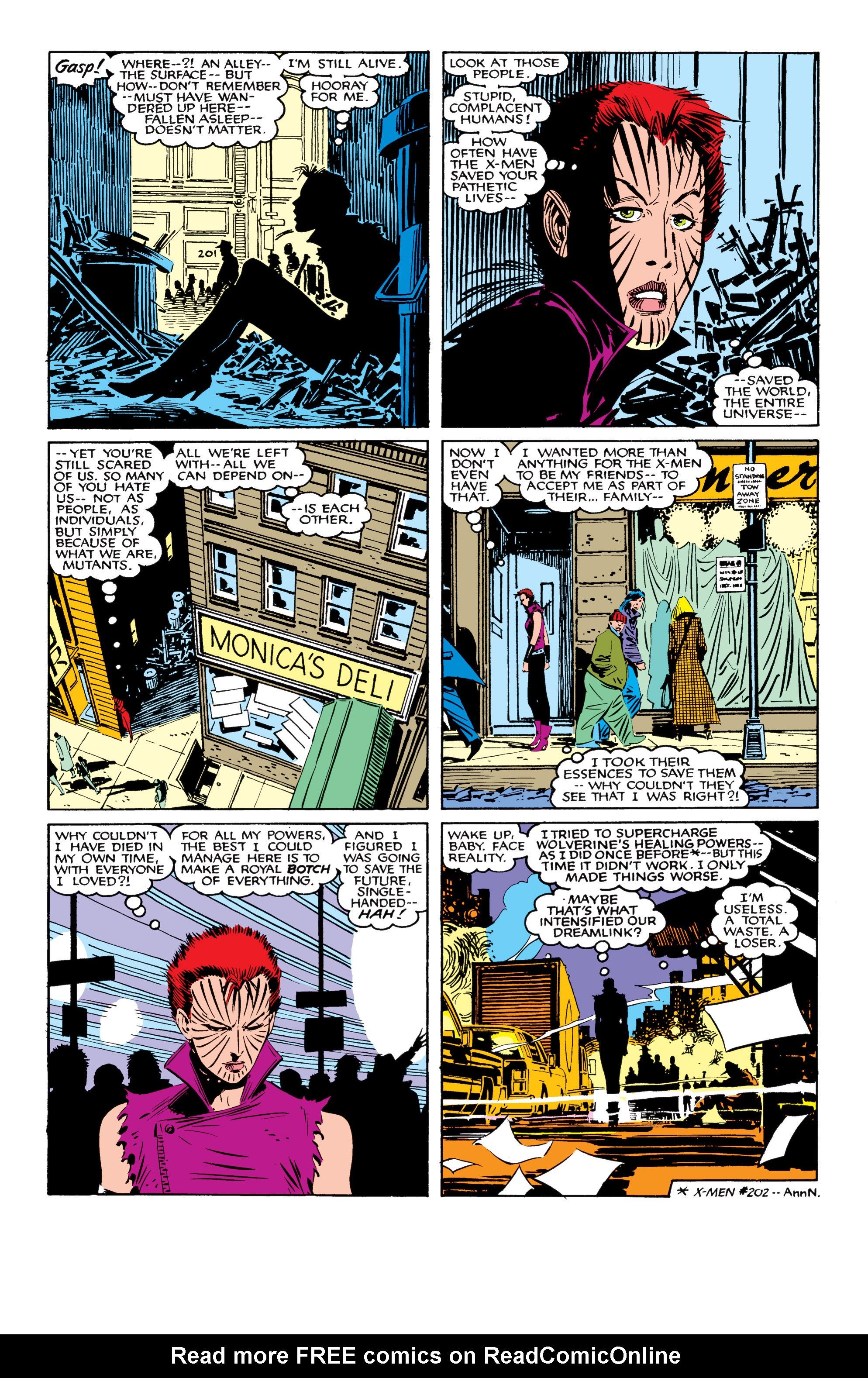 Read online Uncanny X-Men (1963) comic -  Issue #207 - 13