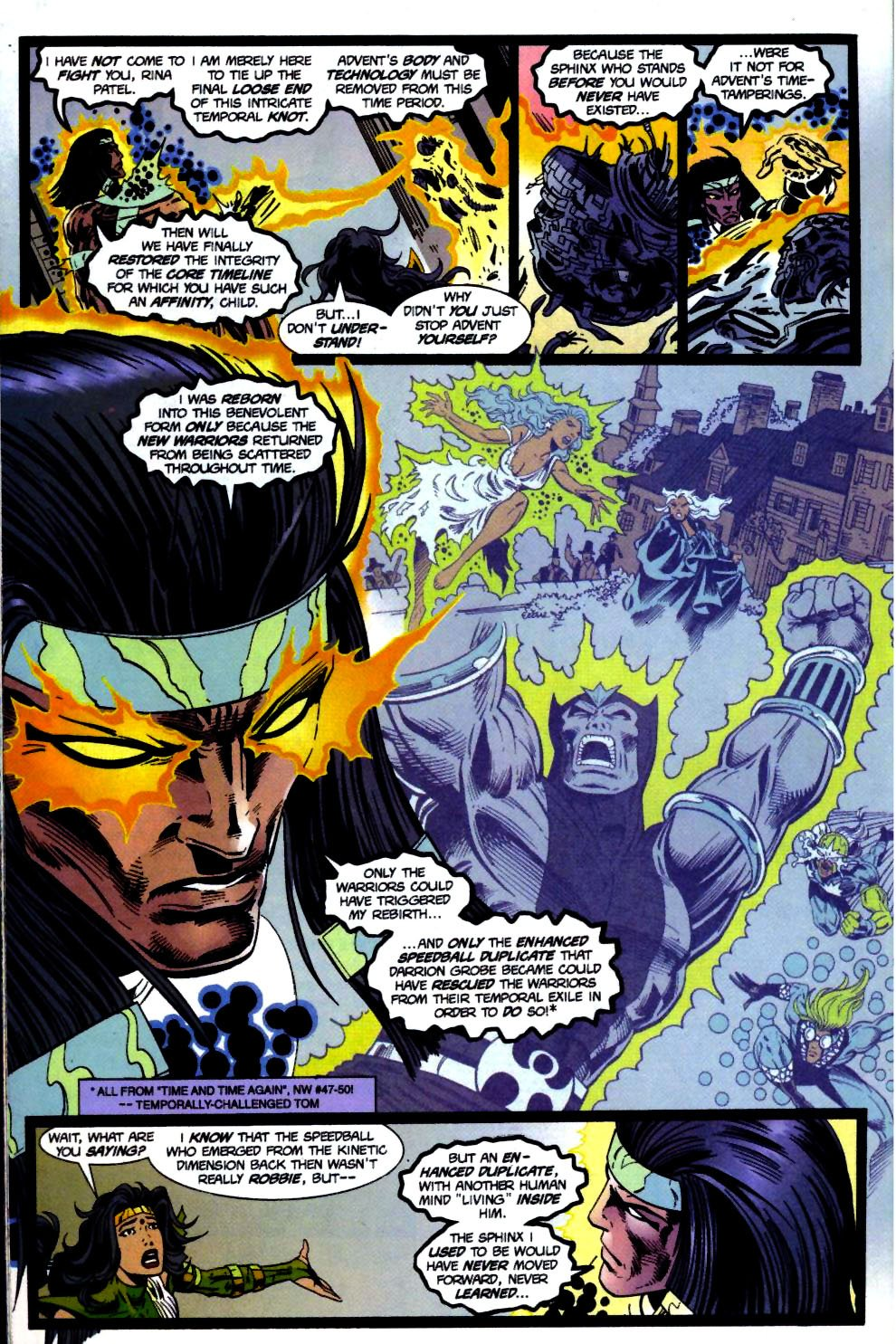 The New Warriors Issue #71 #75 - English 14