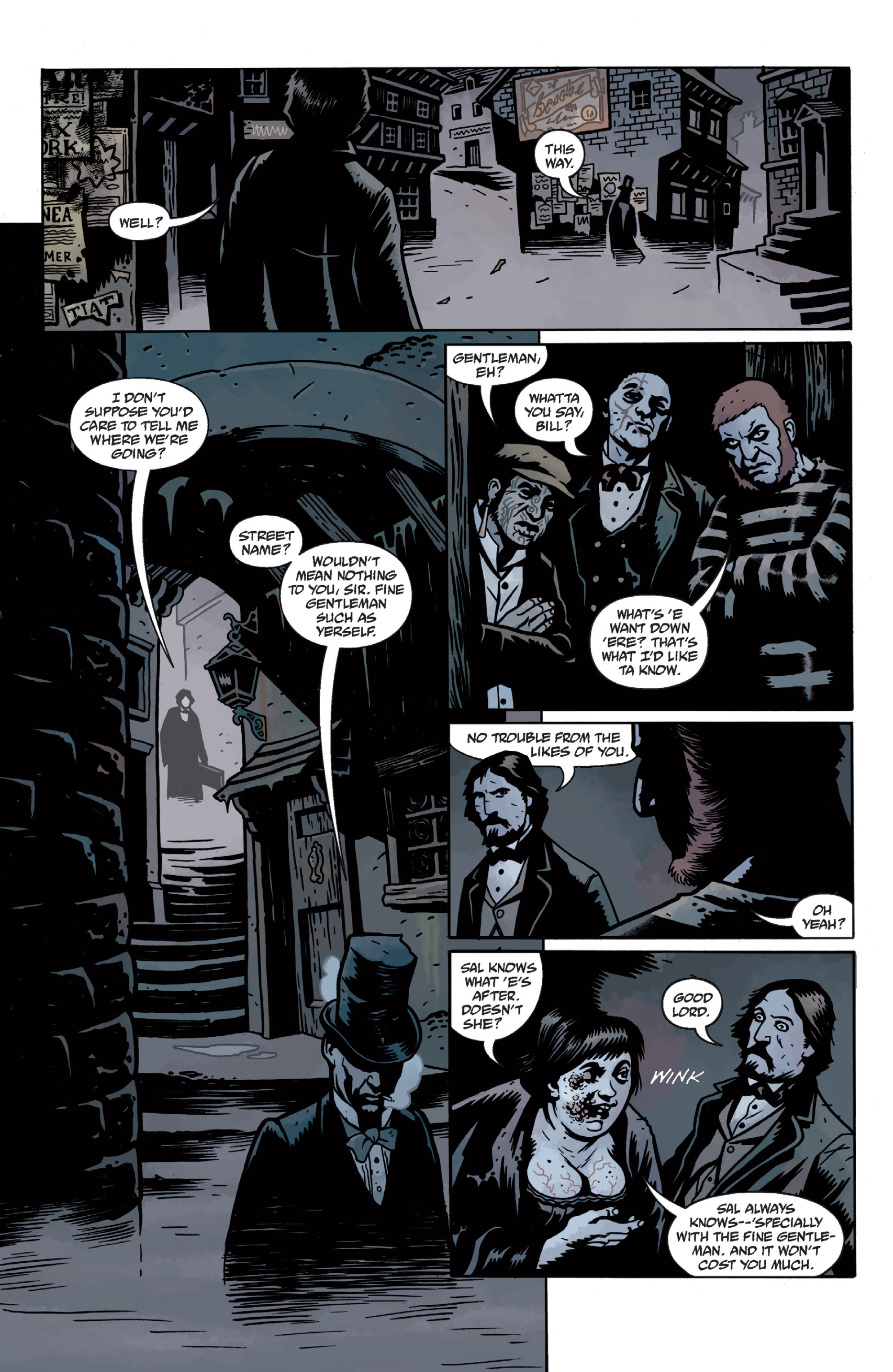 Read online Sir Edward Grey, Witchfinder: In the Service of Angels comic -  Issue # TPB - 34