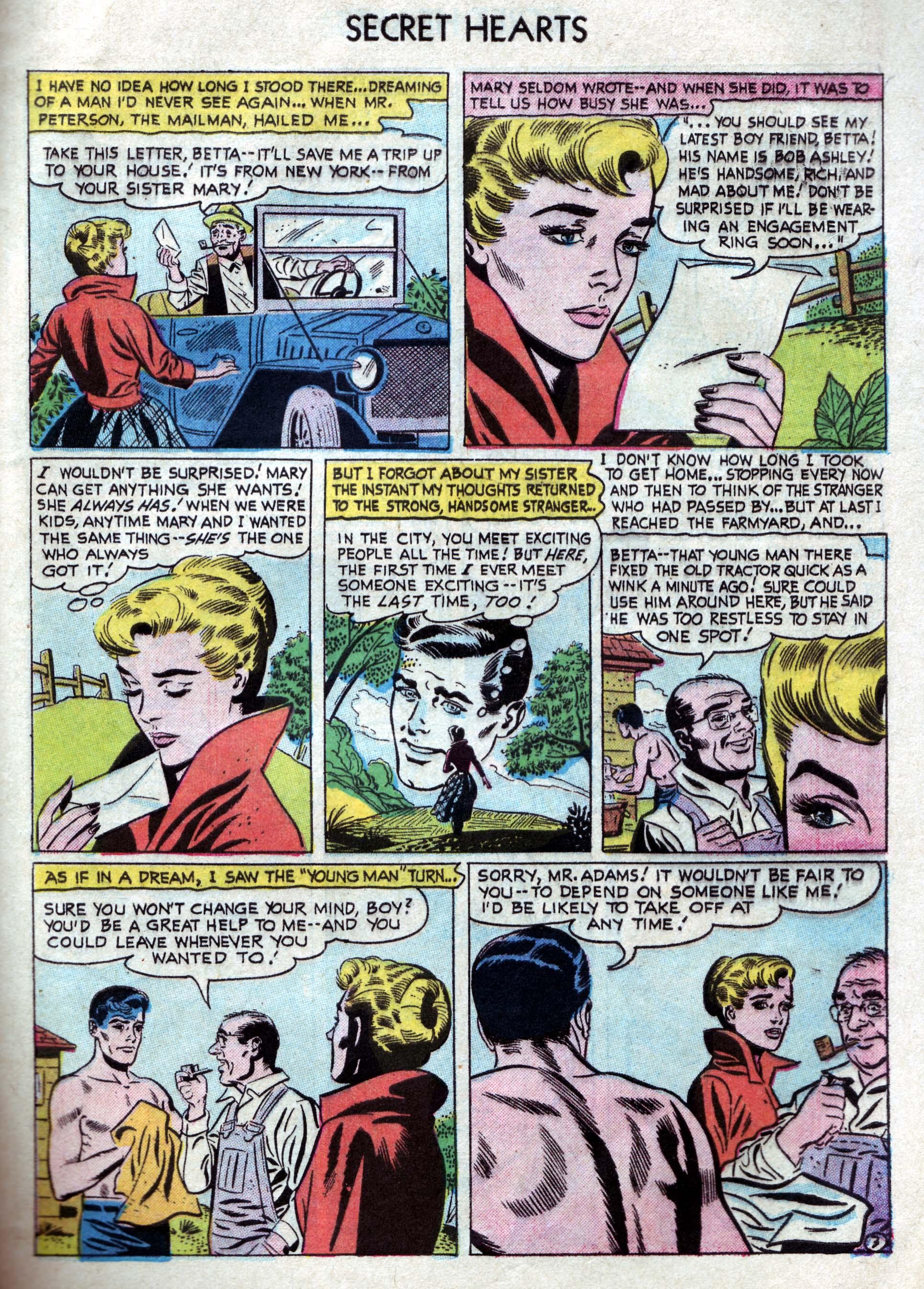 Read online Secret Hearts comic -  Issue #33 - 29