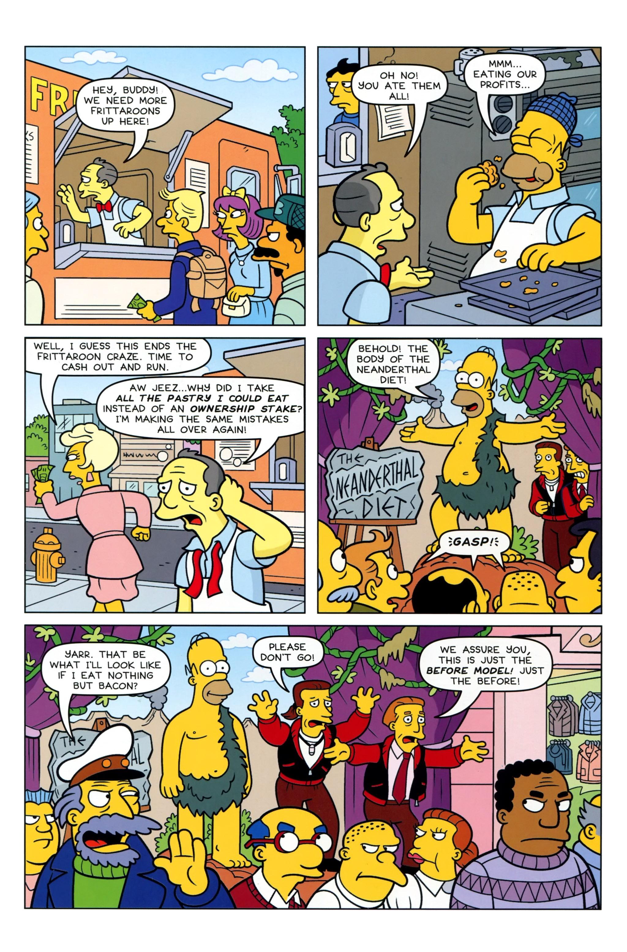 Read online Simpsons Comics comic -  Issue #223 - 23