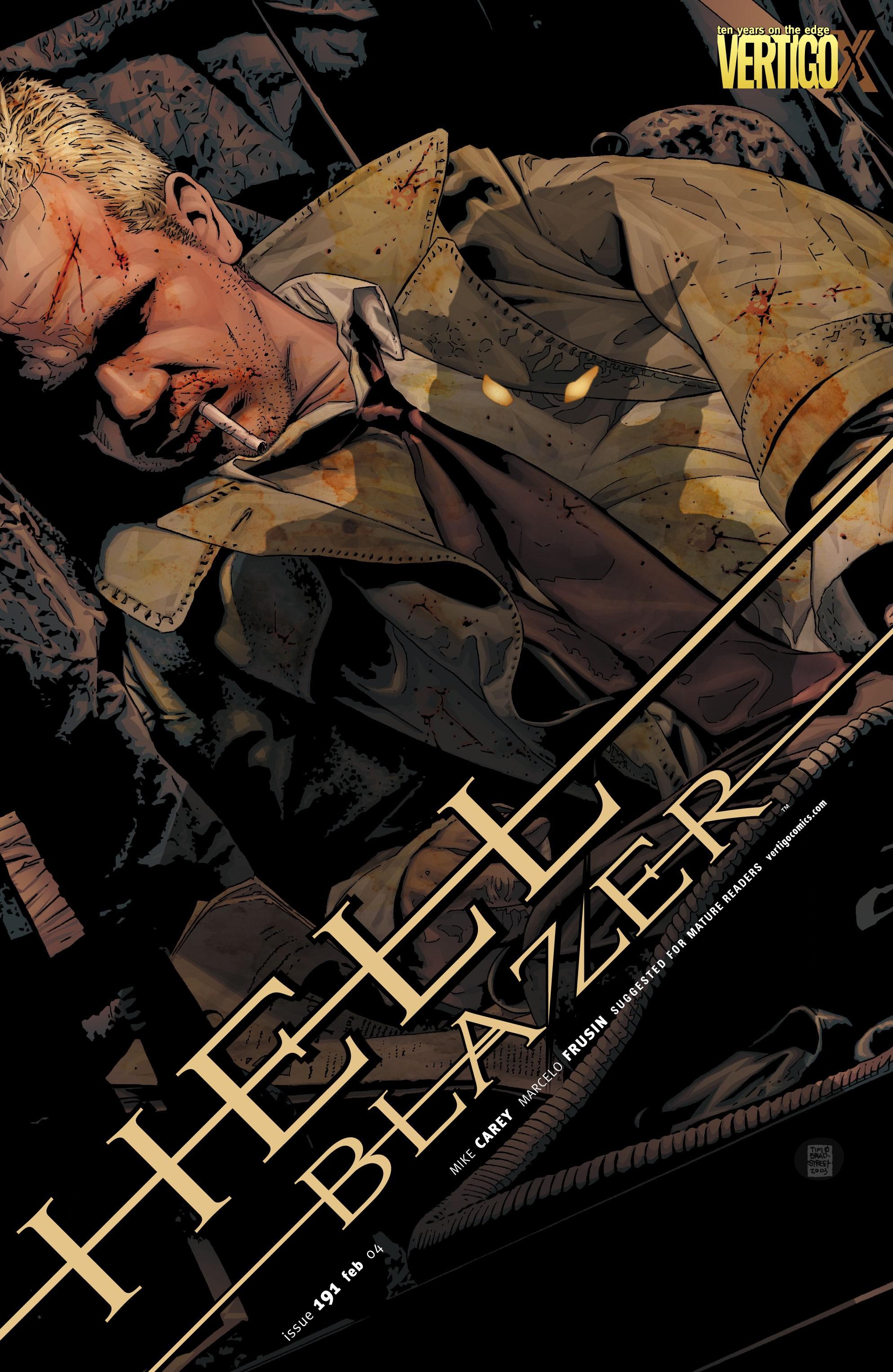Hellblazer issue 191 - Page 1