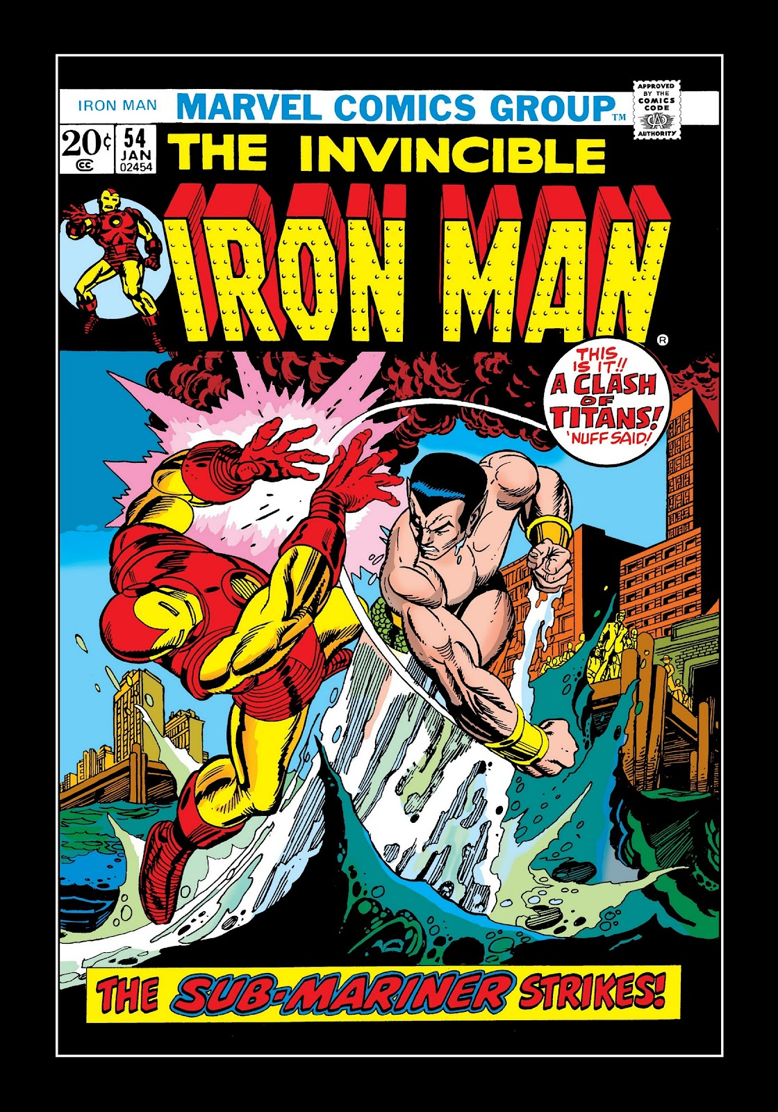 Read online Marvel Masterworks: The Invincible Iron Man comic -  Issue # TPB 9 (Part 1) - 7