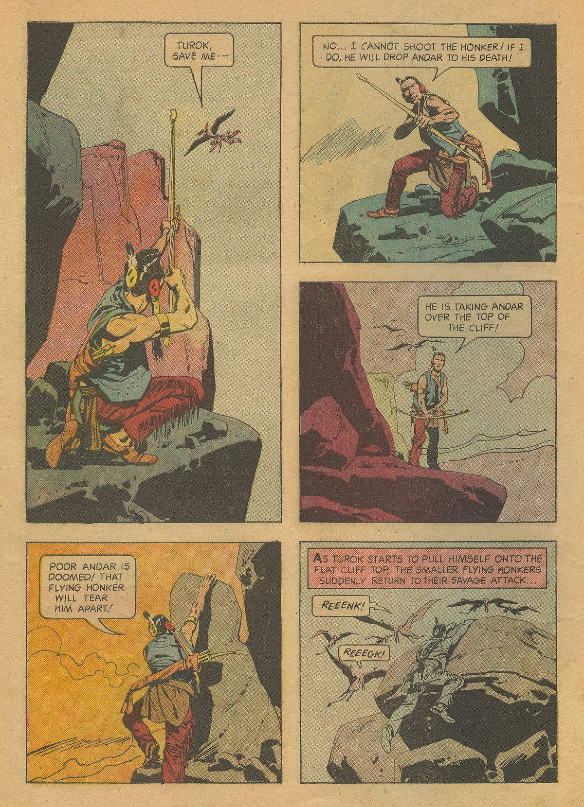 Read online Turok, Son of Stone comic -  Issue #37 - 10
