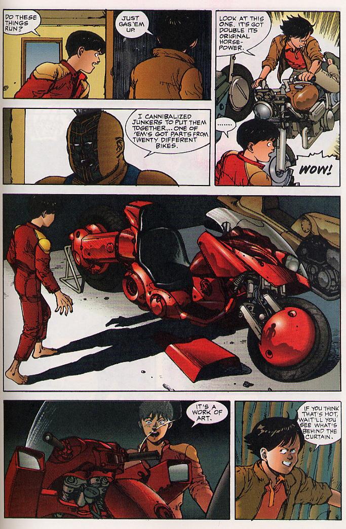 Read online Akira comic -  Issue #24 - 57