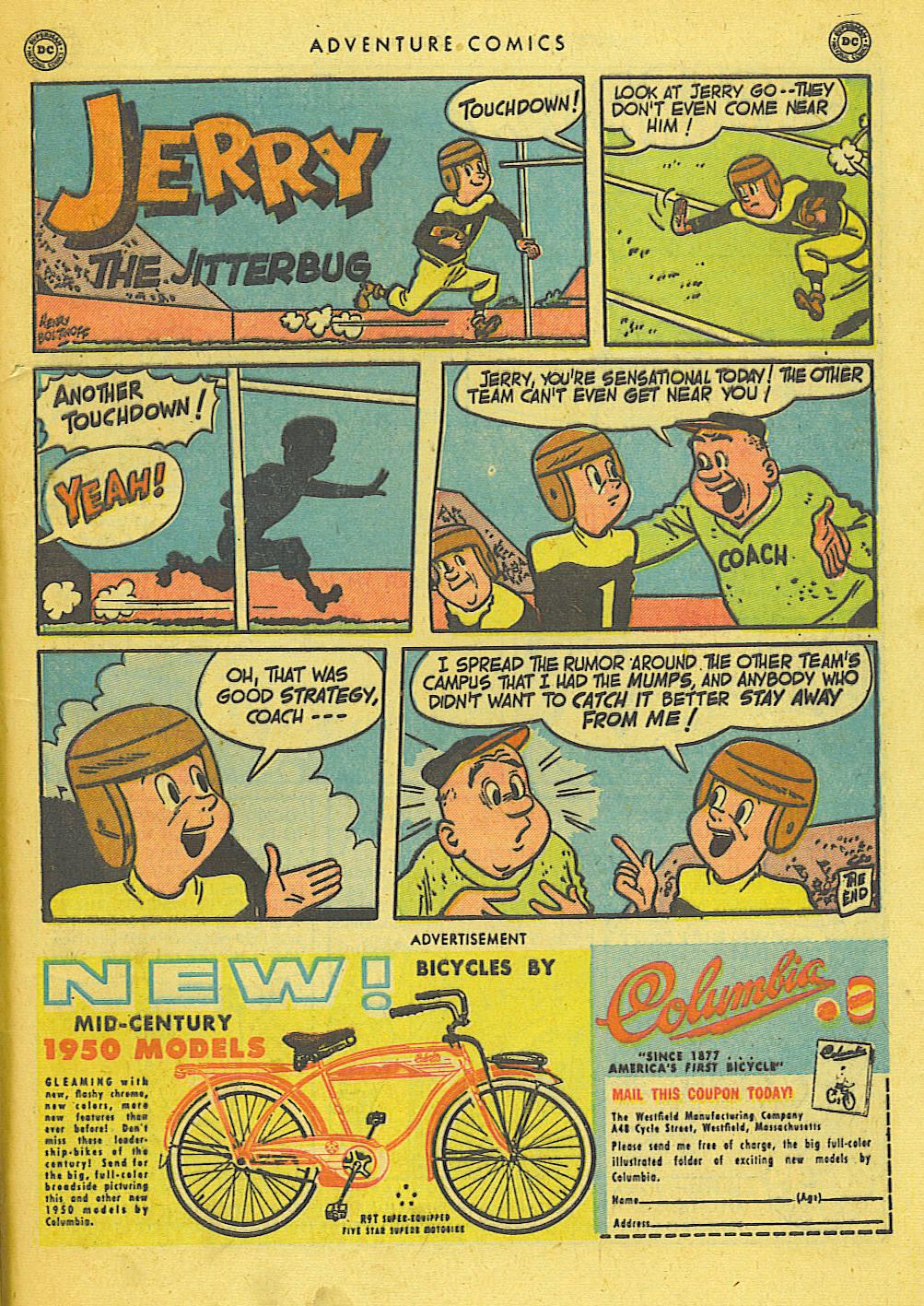 Read online Adventure Comics (1938) comic -  Issue #155 - 49