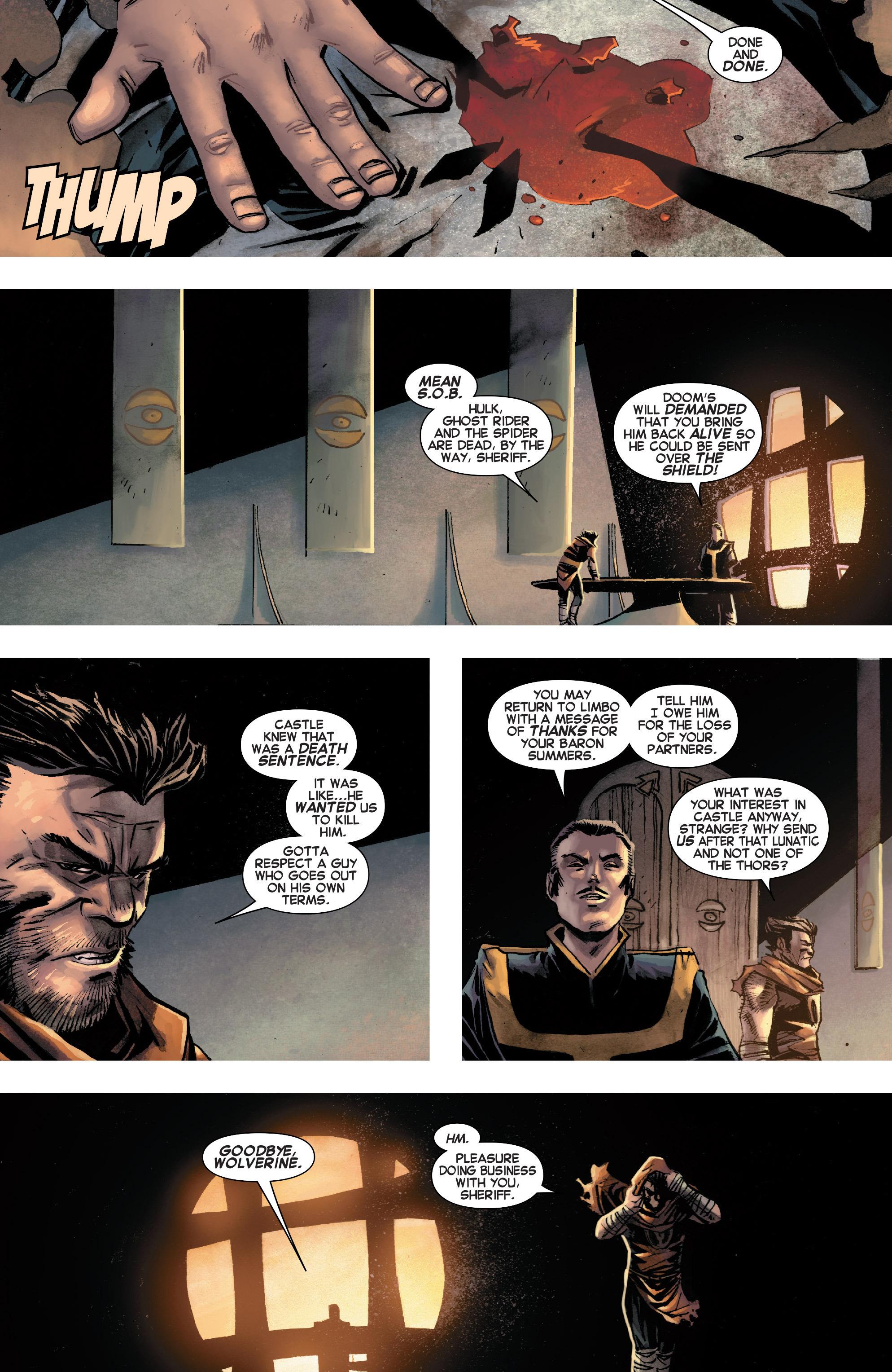 Read online Secret Wars Journal/Battleworld comic -  Issue # TPB - 129