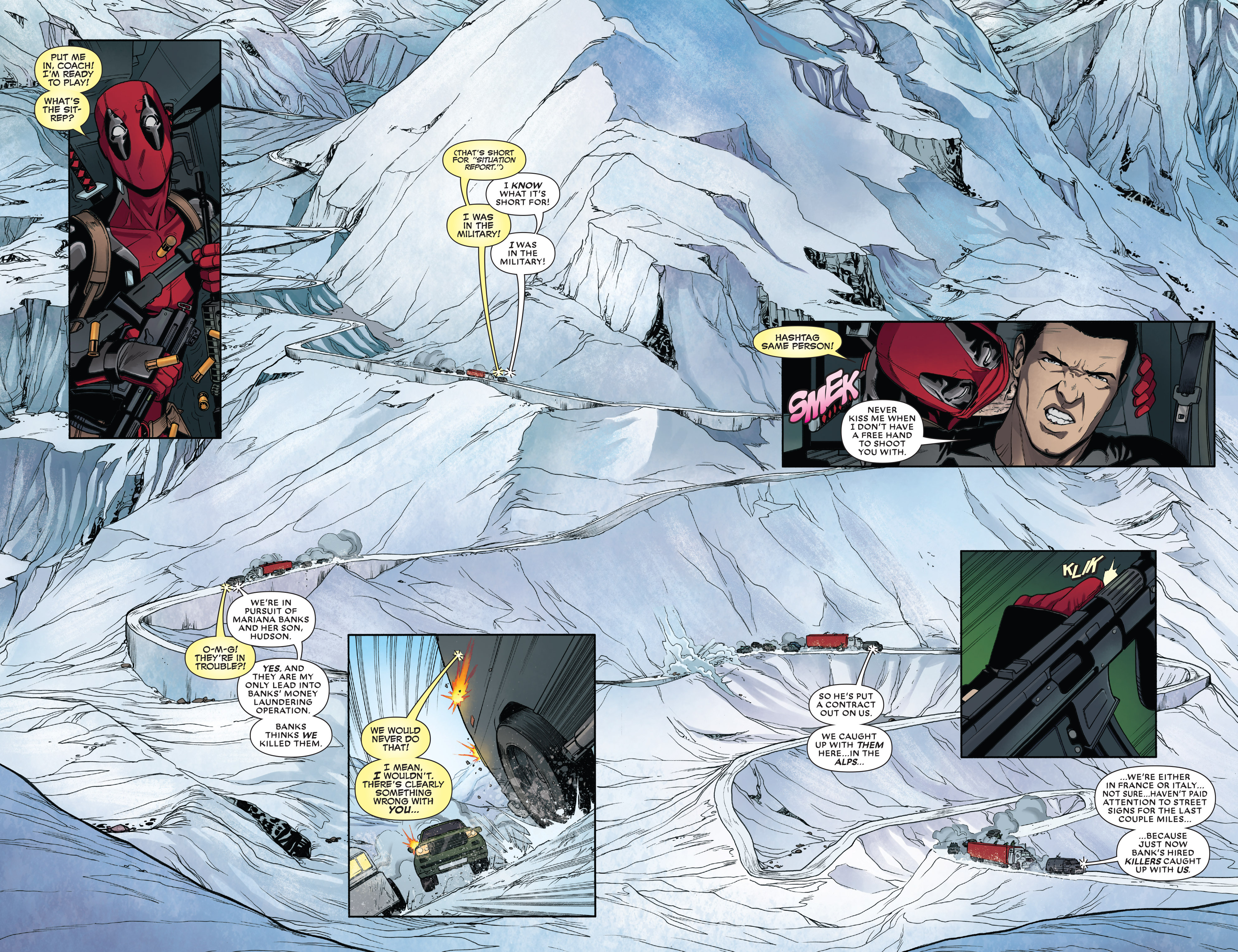 Read online Deadpool vs. The Punisher comic -  Issue #3 - 5