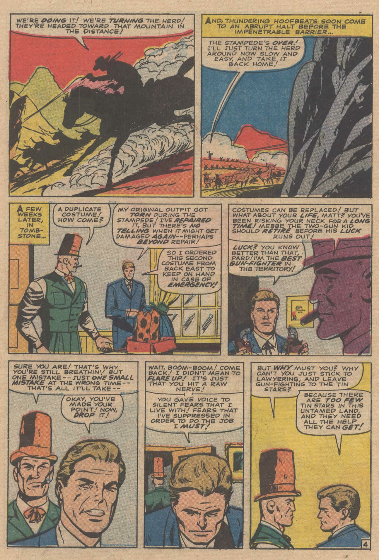 Read online Two-Gun Kid comic -  Issue #83 - 6