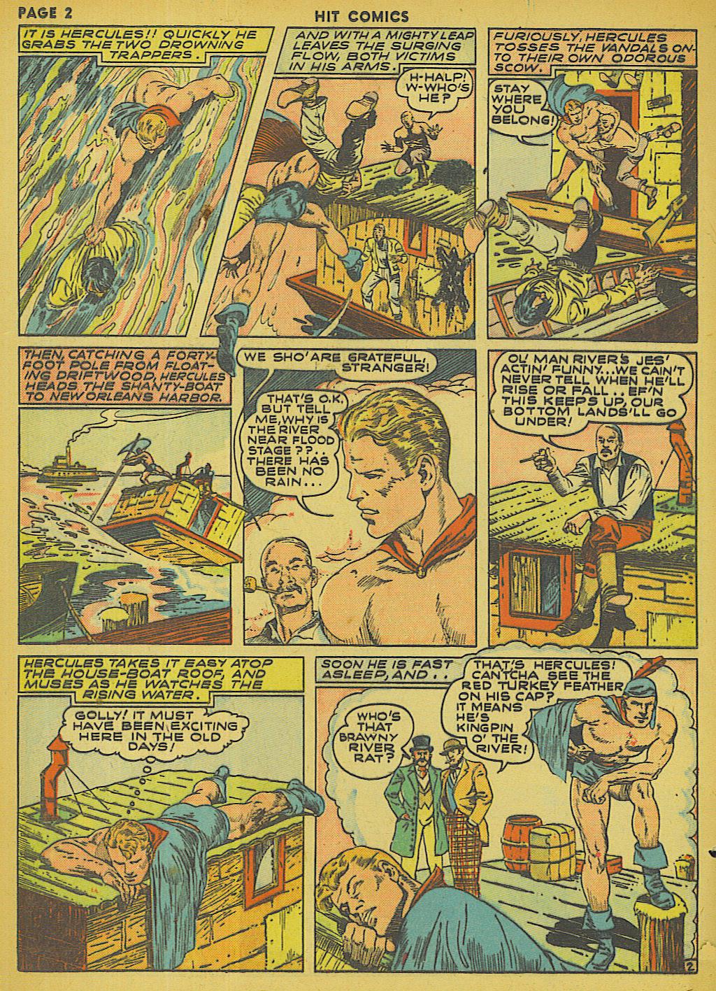 Read online Hit Comics comic -  Issue #13 - 4