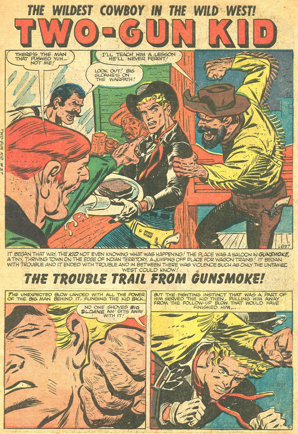 Read online Two-Gun Kid comic -  Issue #37 - 3