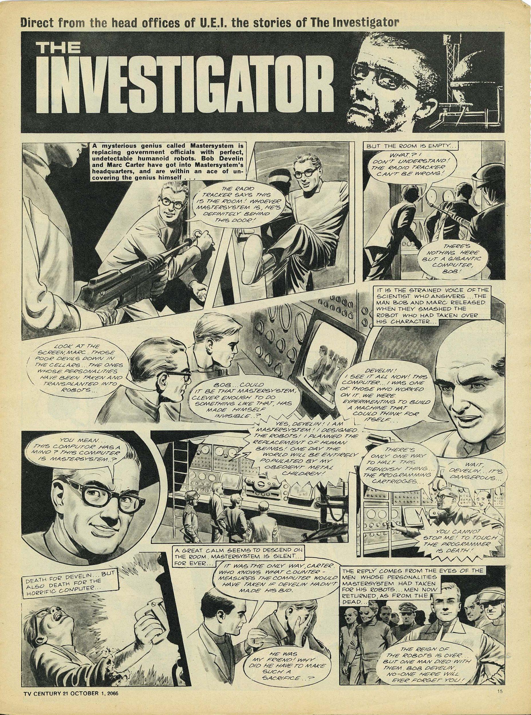 Read online TV Century 21 (TV 21) comic -  Issue #89 - 14
