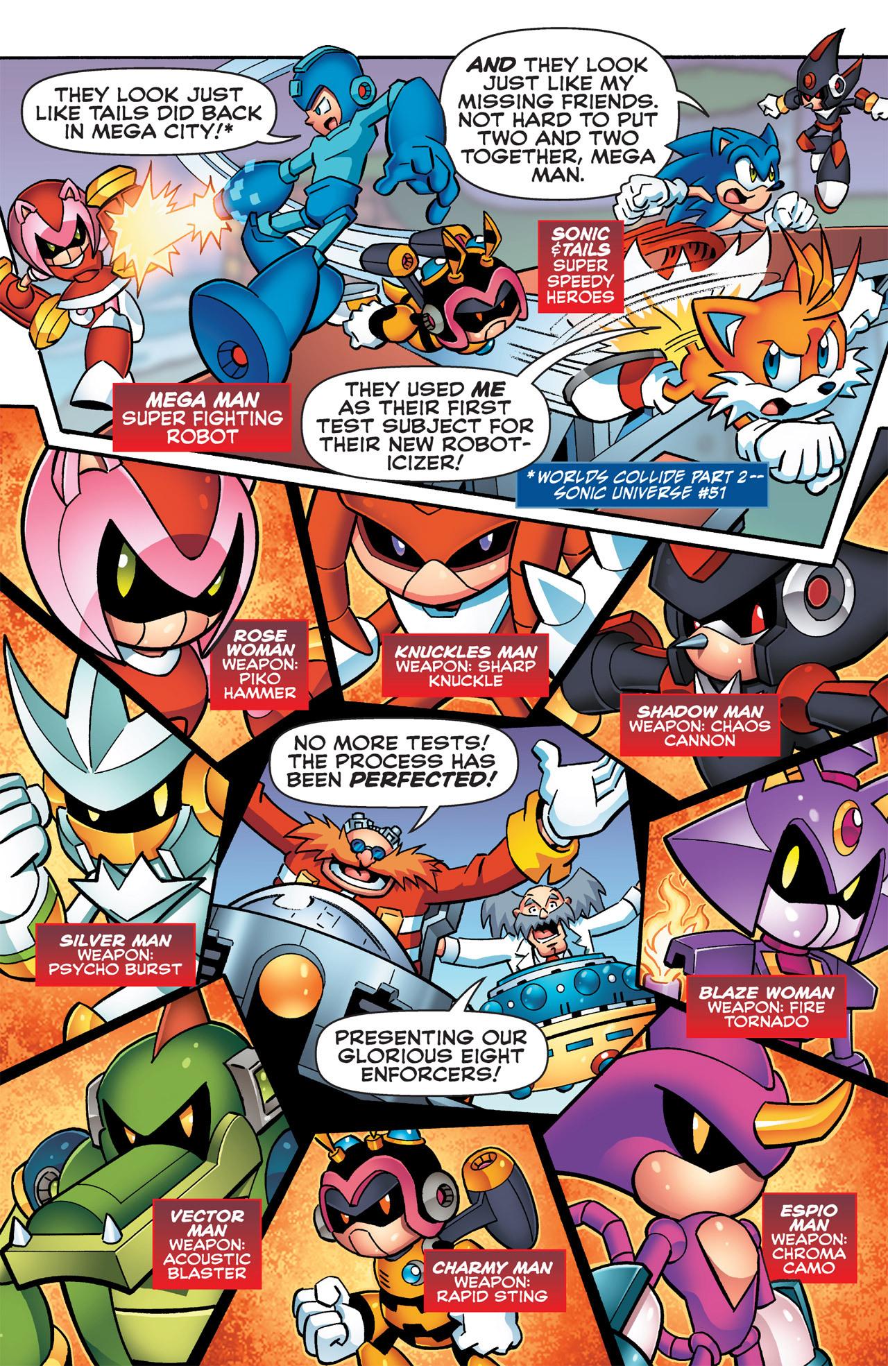 Read online Sonic Mega Man Worlds Collide comic -  Issue # Vol 2 - 36