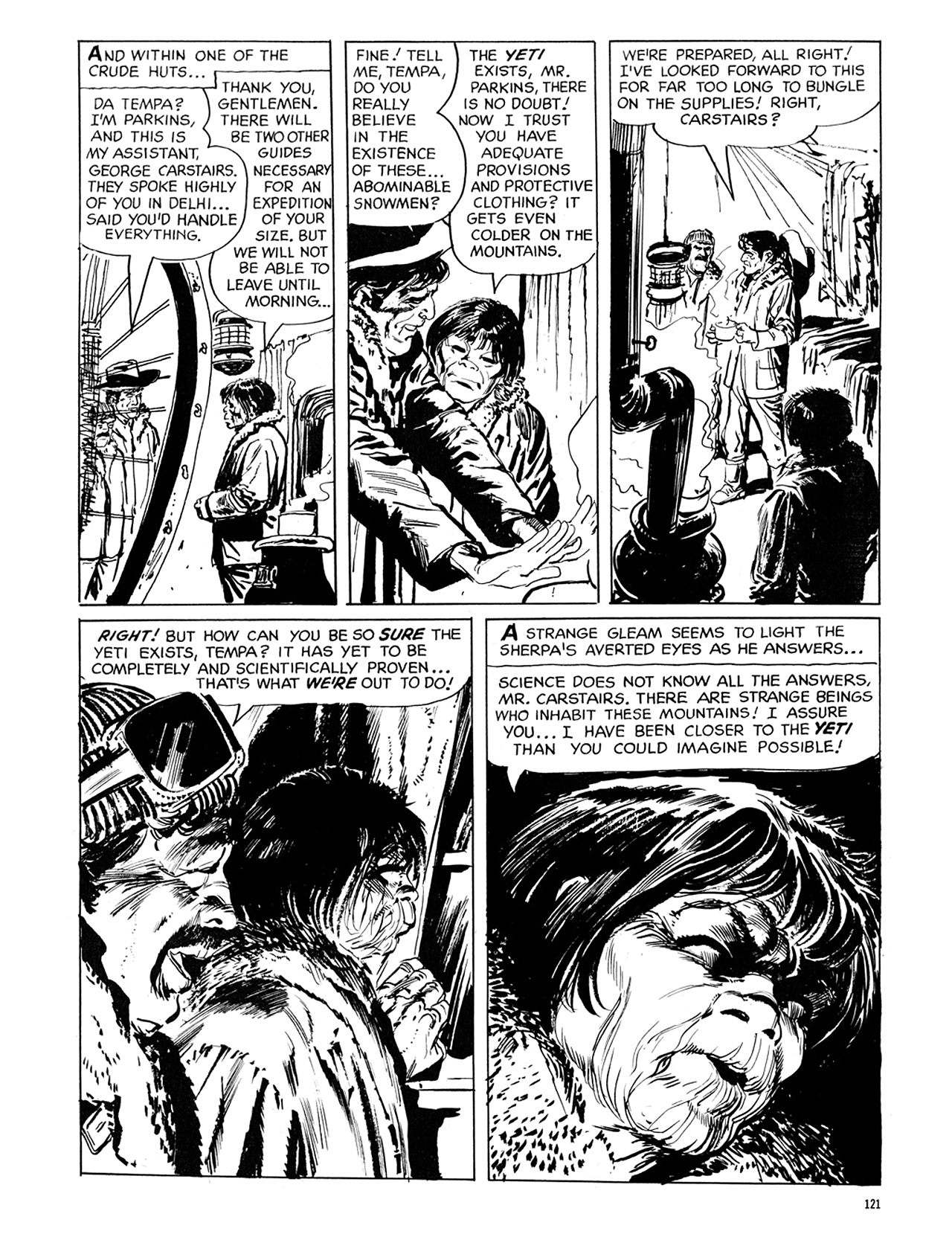 Read online Eerie Archives comic -  Issue # TPB 6 - 121