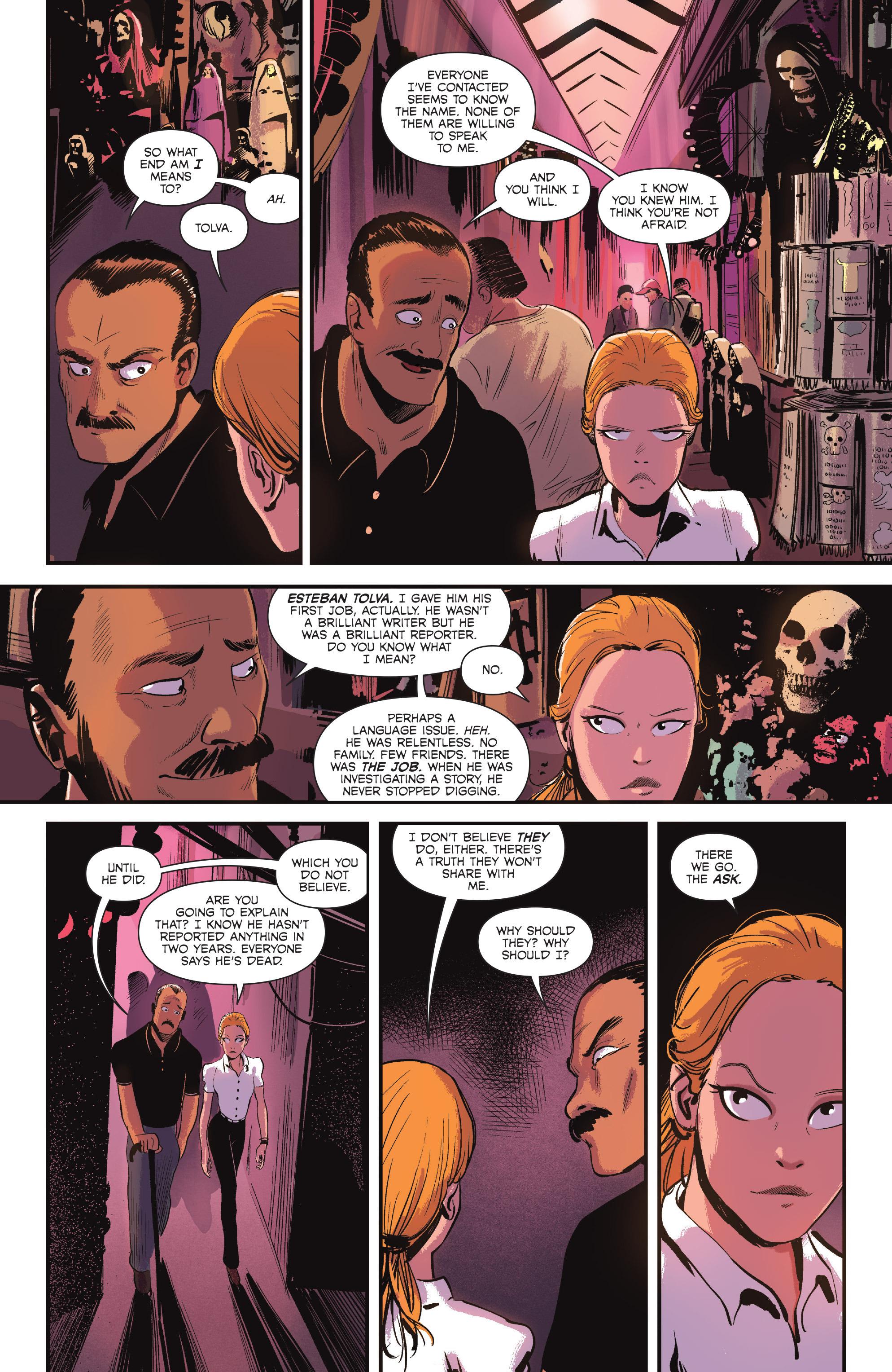 Read online Sombra comic -  Issue #1 - 18