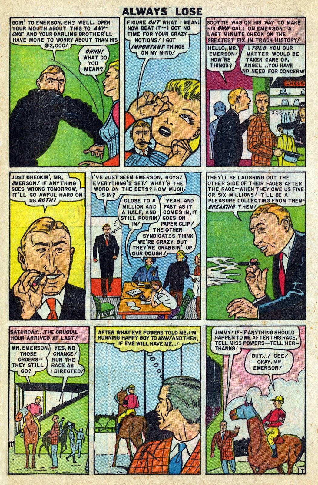 Lawbreakers Always Lose! issue 9 - Page 18
