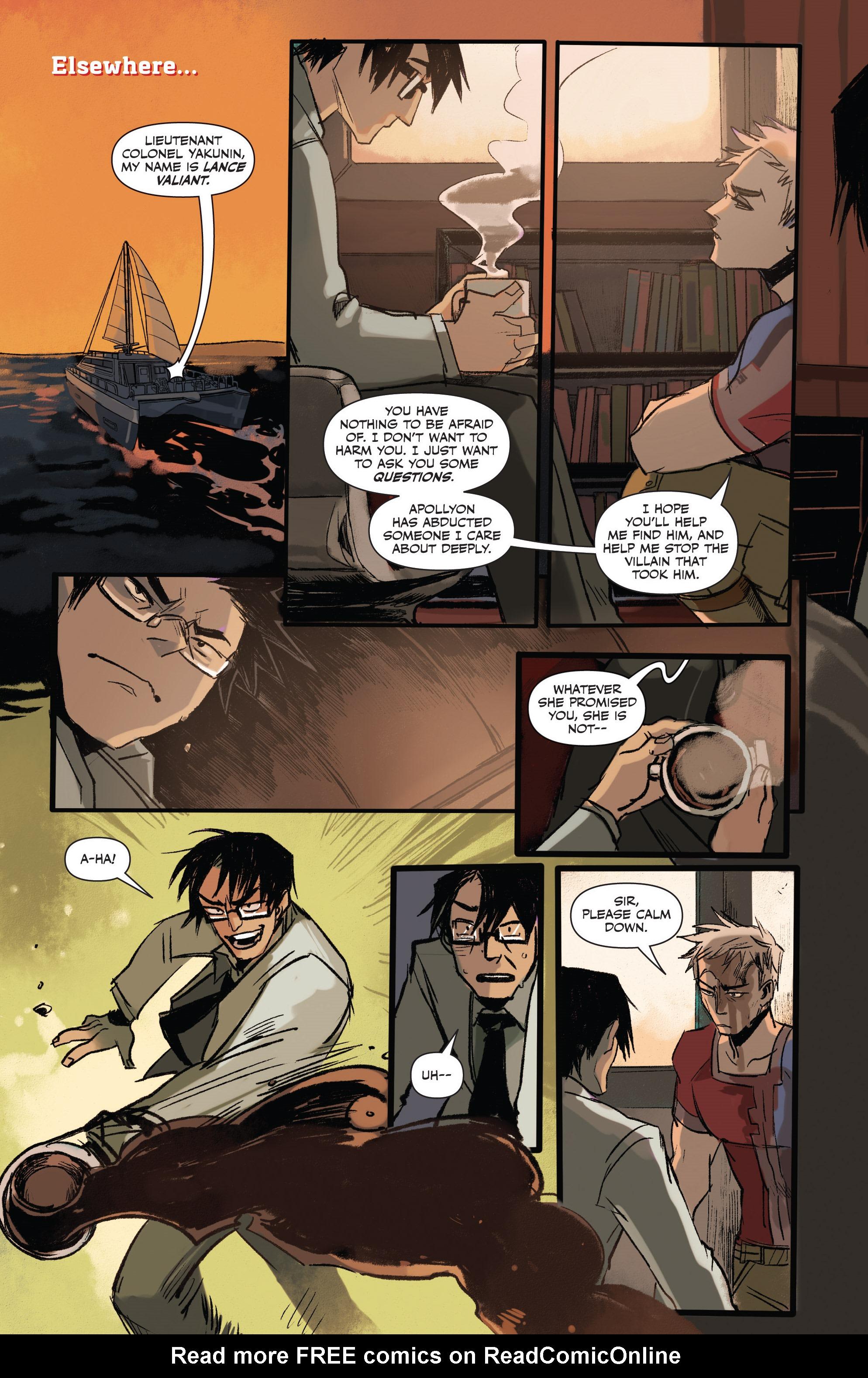 Read online Freelance comic -  Issue #3 - 14