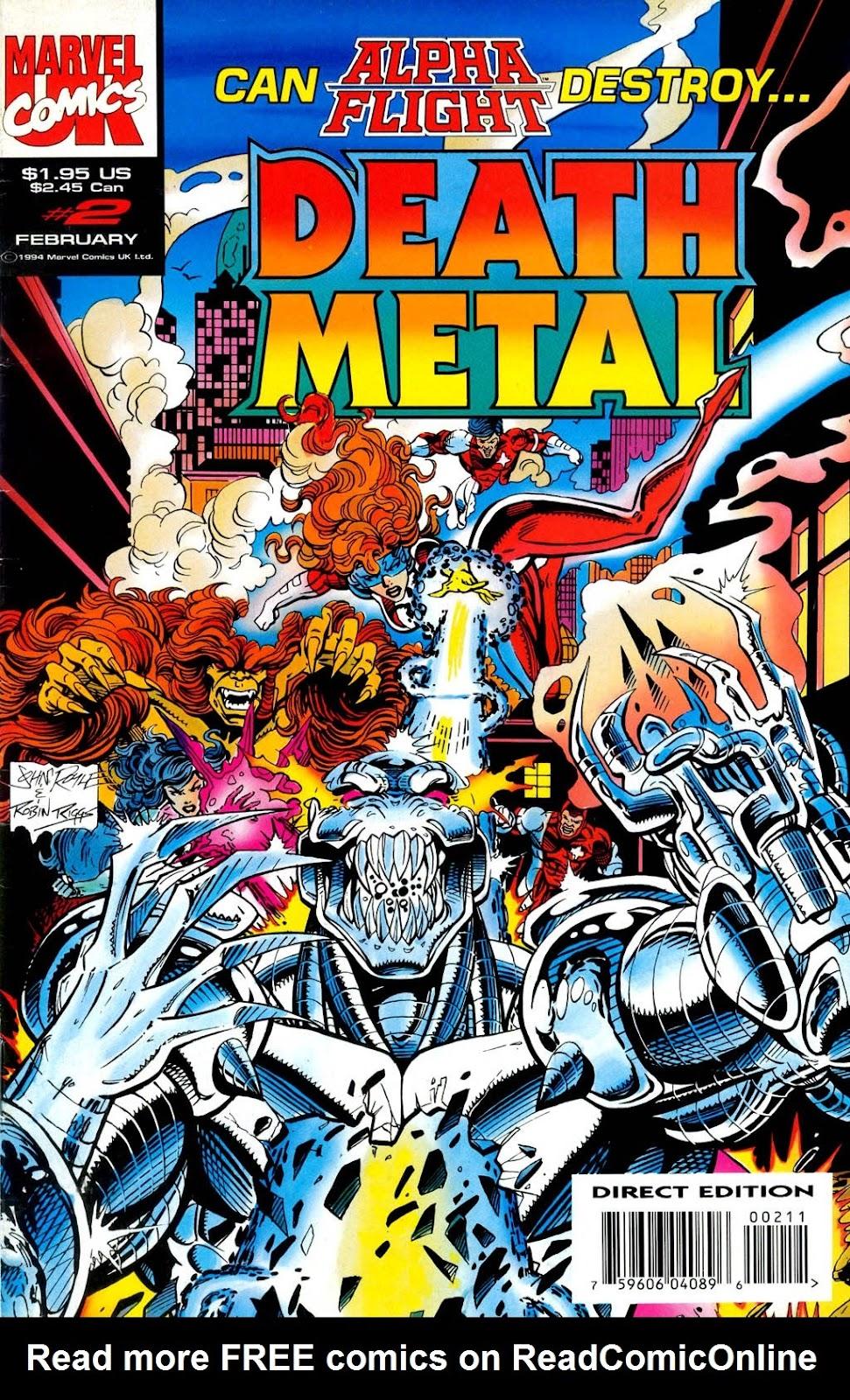 Death Metal 2 Page 1