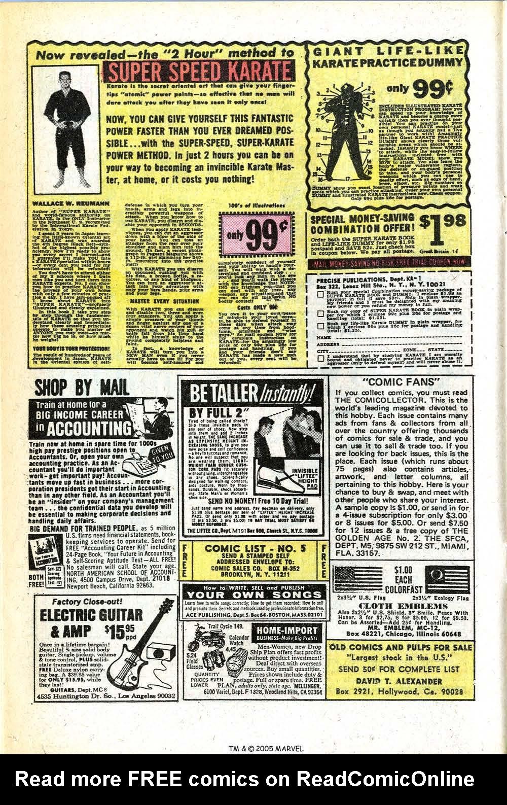 Read online Uncanny X-Men (1963) comic -  Issue #78 - 12