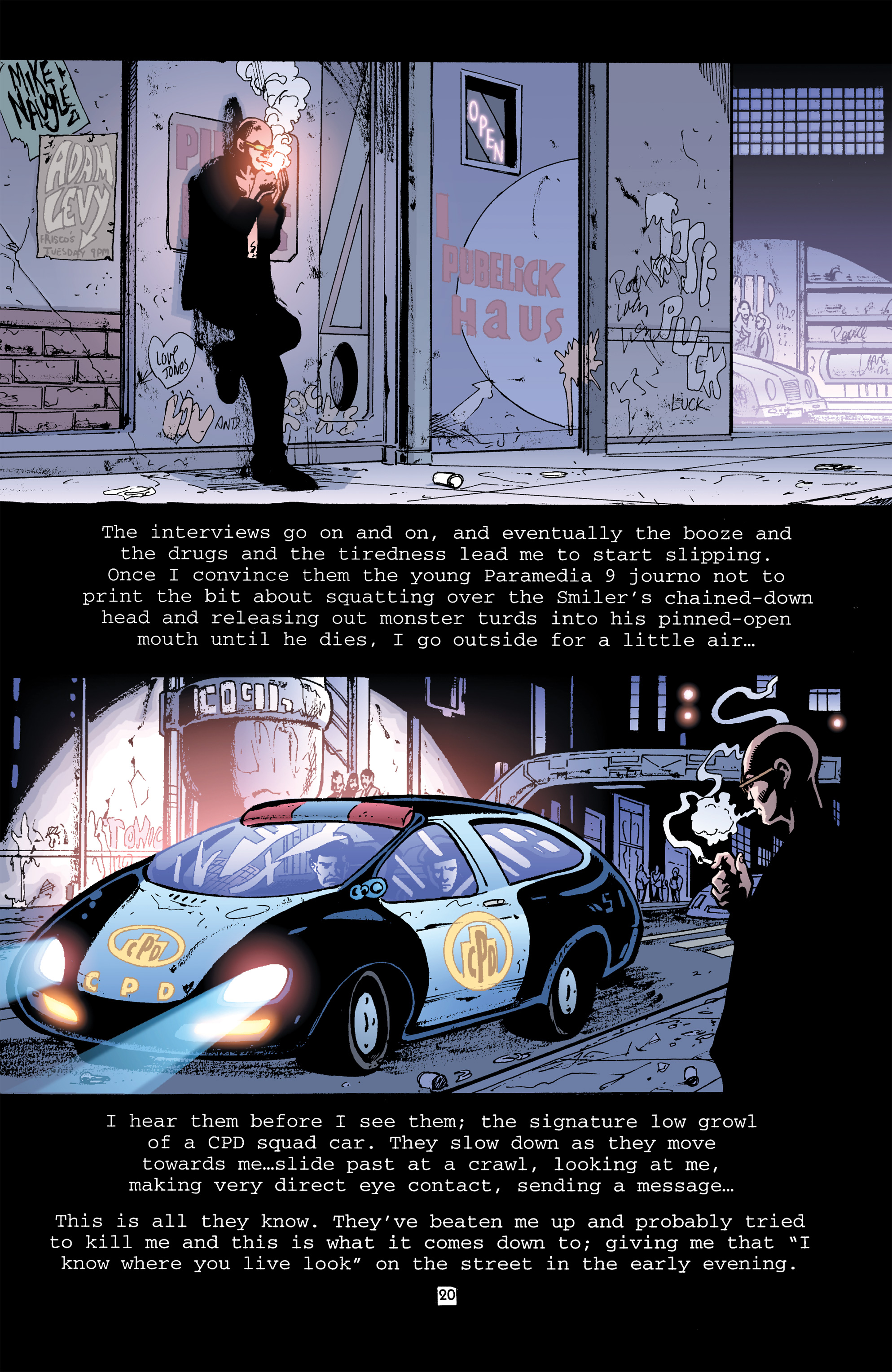 Read online Transmetropolitan comic -  Issue #32 - 21