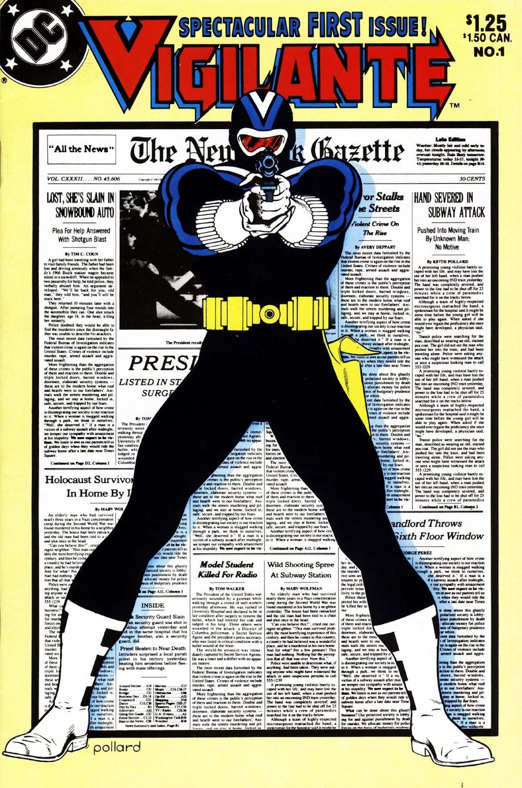 Vigilante (1983) issue 1 - Page 1