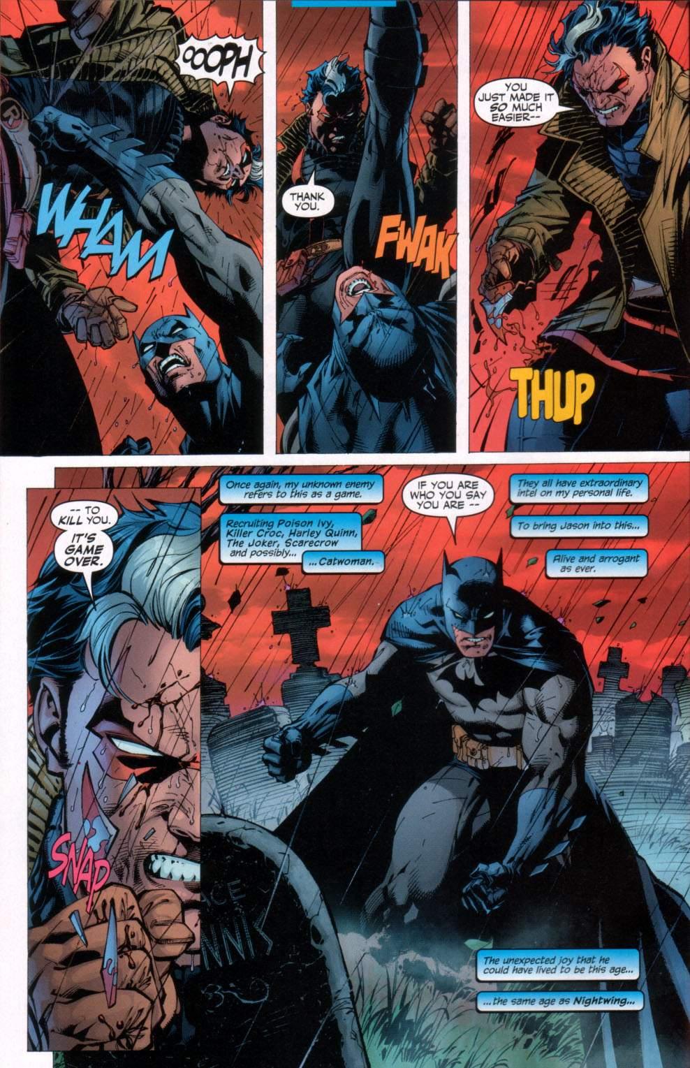 Read online Batman: Hush comic -  Issue #11 - 8