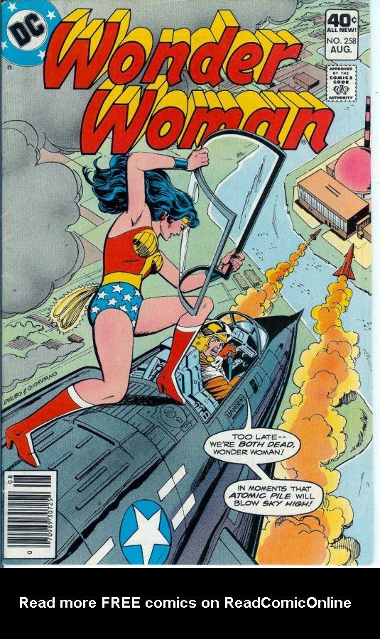Read online Wonder Woman (1942) comic -  Issue #258 - 1