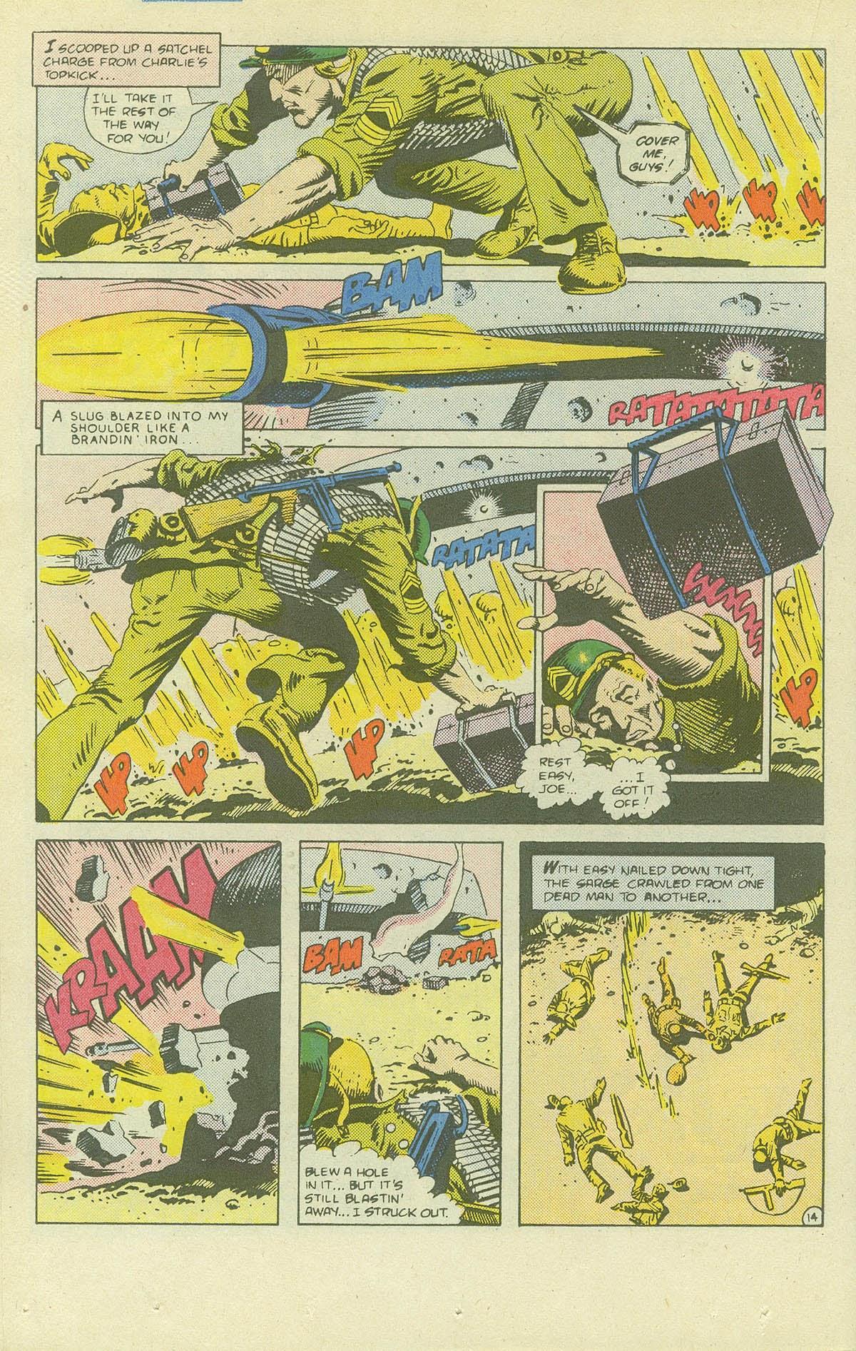 Read online Sgt. Rock comic -  Issue #411 - 19