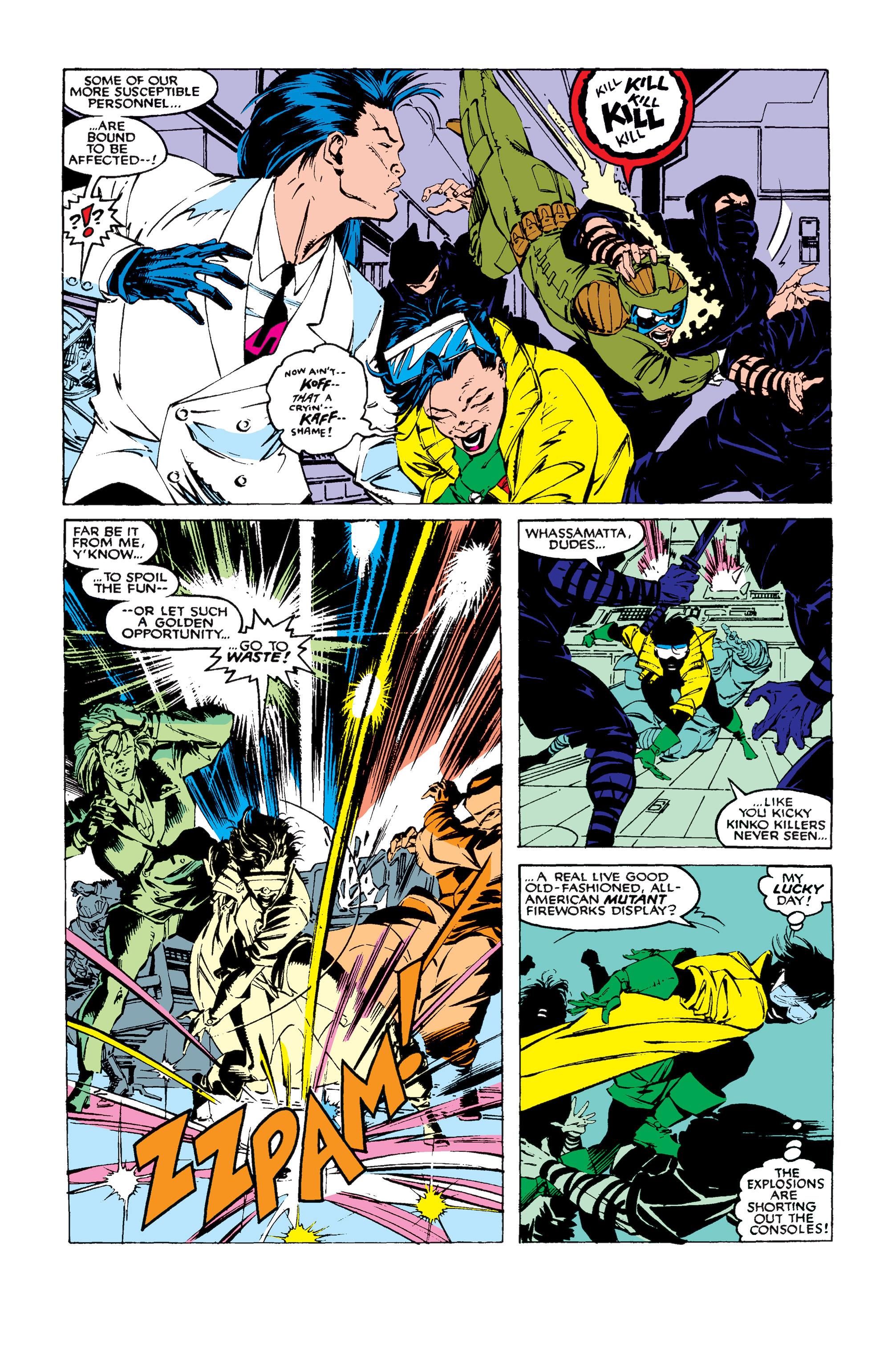Read online Uncanny X-Men (1963) comic -  Issue #258 - 7