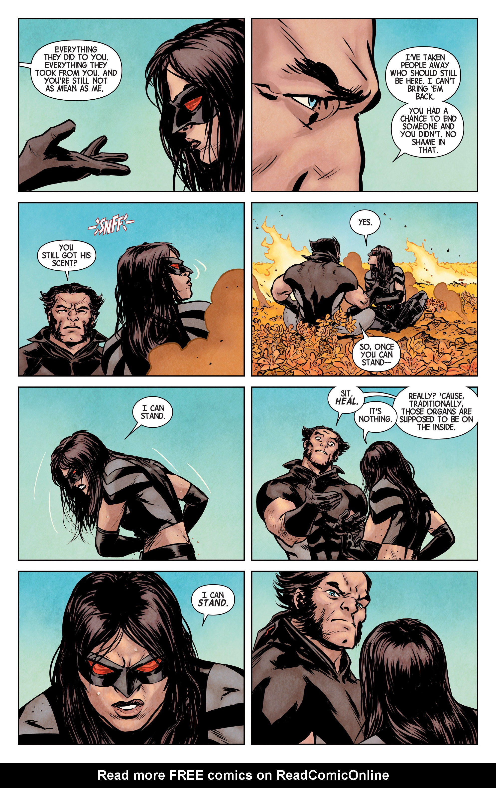 Read online All-New Wolverine (2016) comic -  Issue #1 - 8