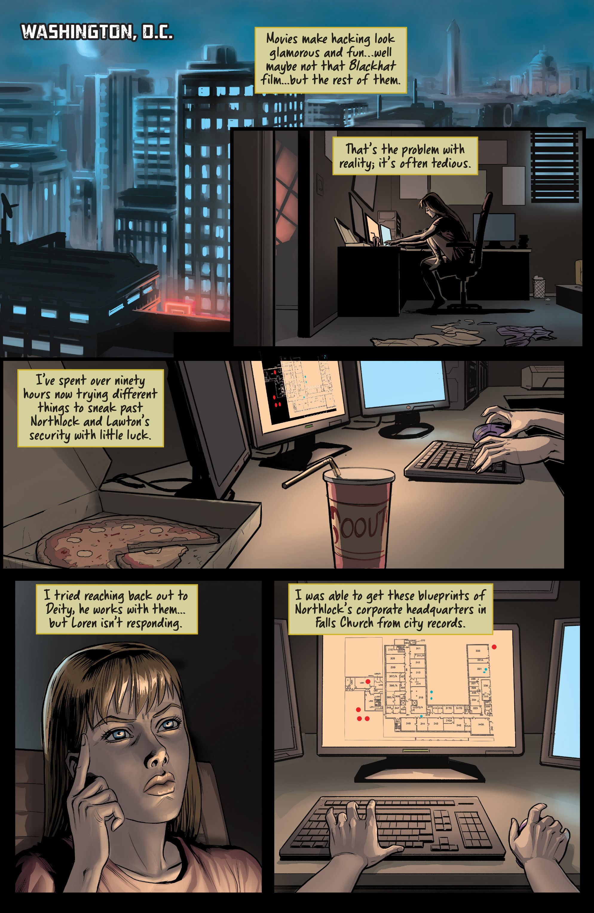 Read online Samaritan: Vertias comic -  Issue #1 - 21