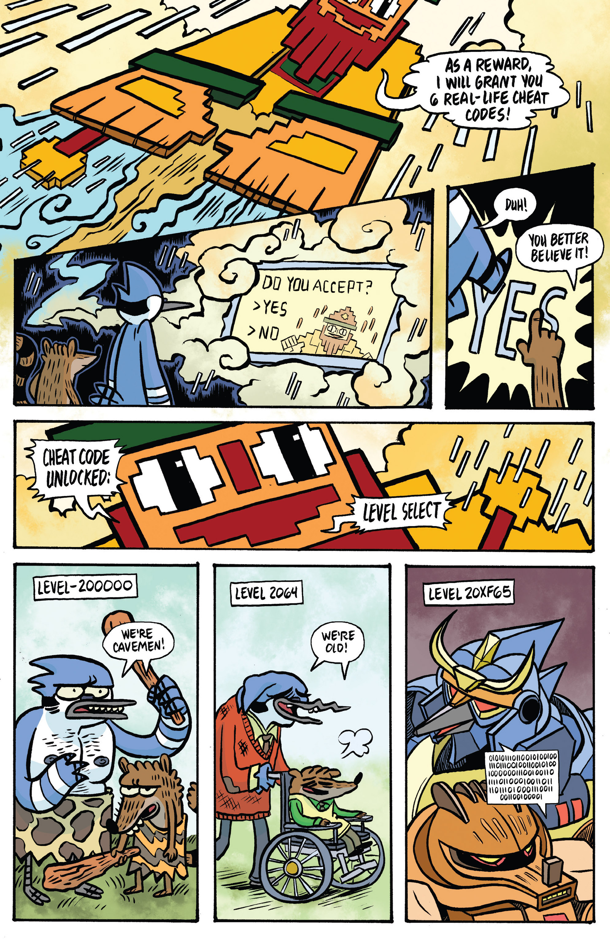 Read online Regular Show comic -  Issue # _Annual 1 - 18