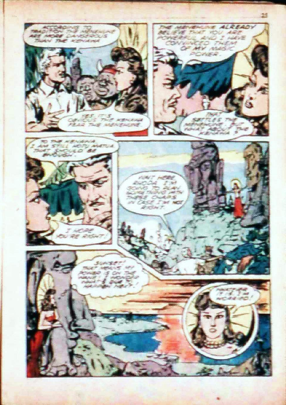 Read online Super-Magician Comics comic -  Issue #17 - 25