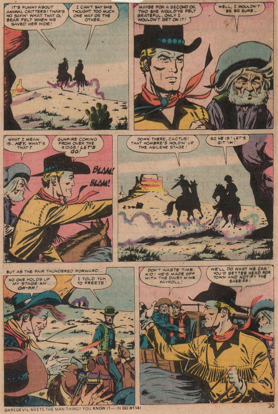 Kid Colt Outlaw issue 187 - Page 31