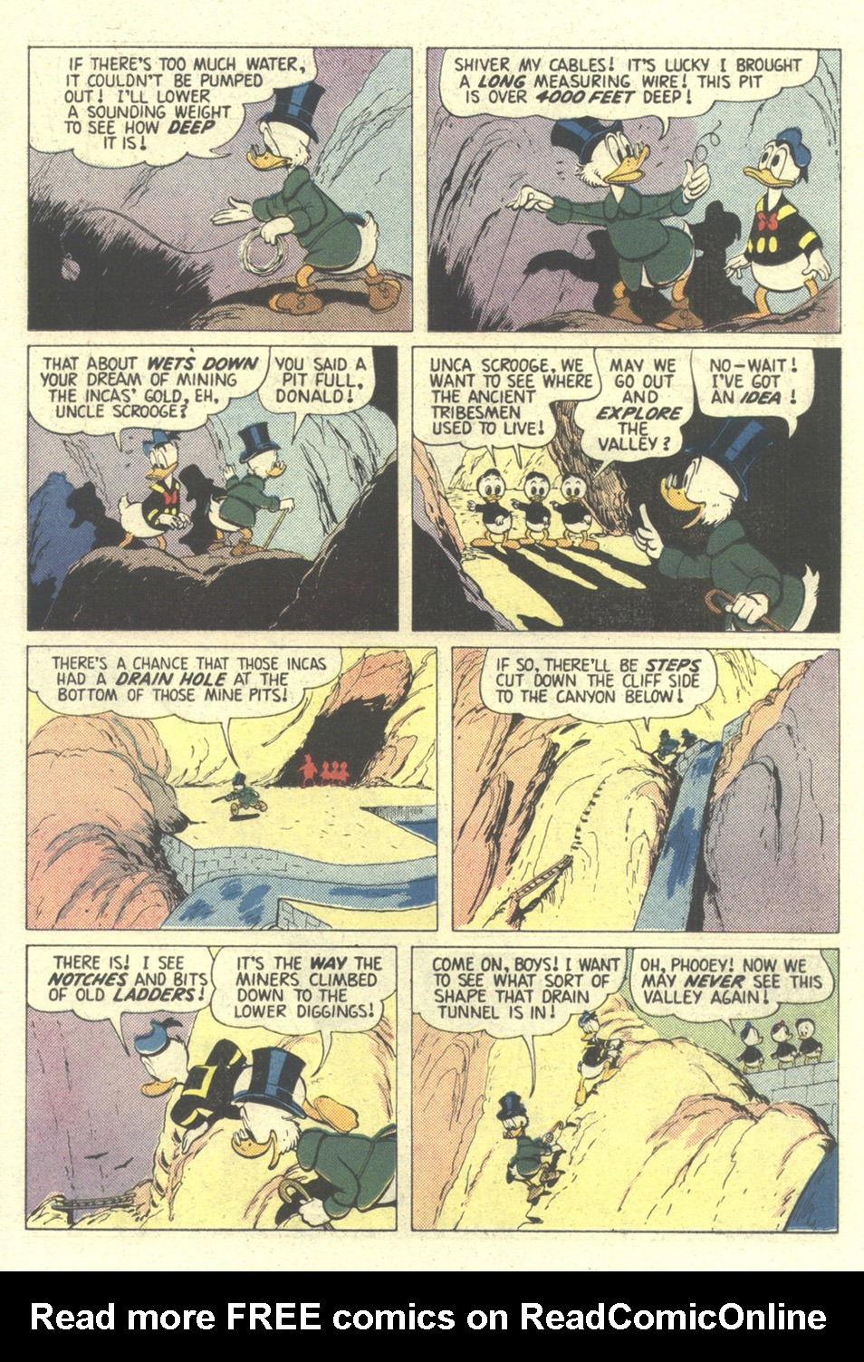Read online Uncle Scrooge (1953) comic -  Issue #211 - 18