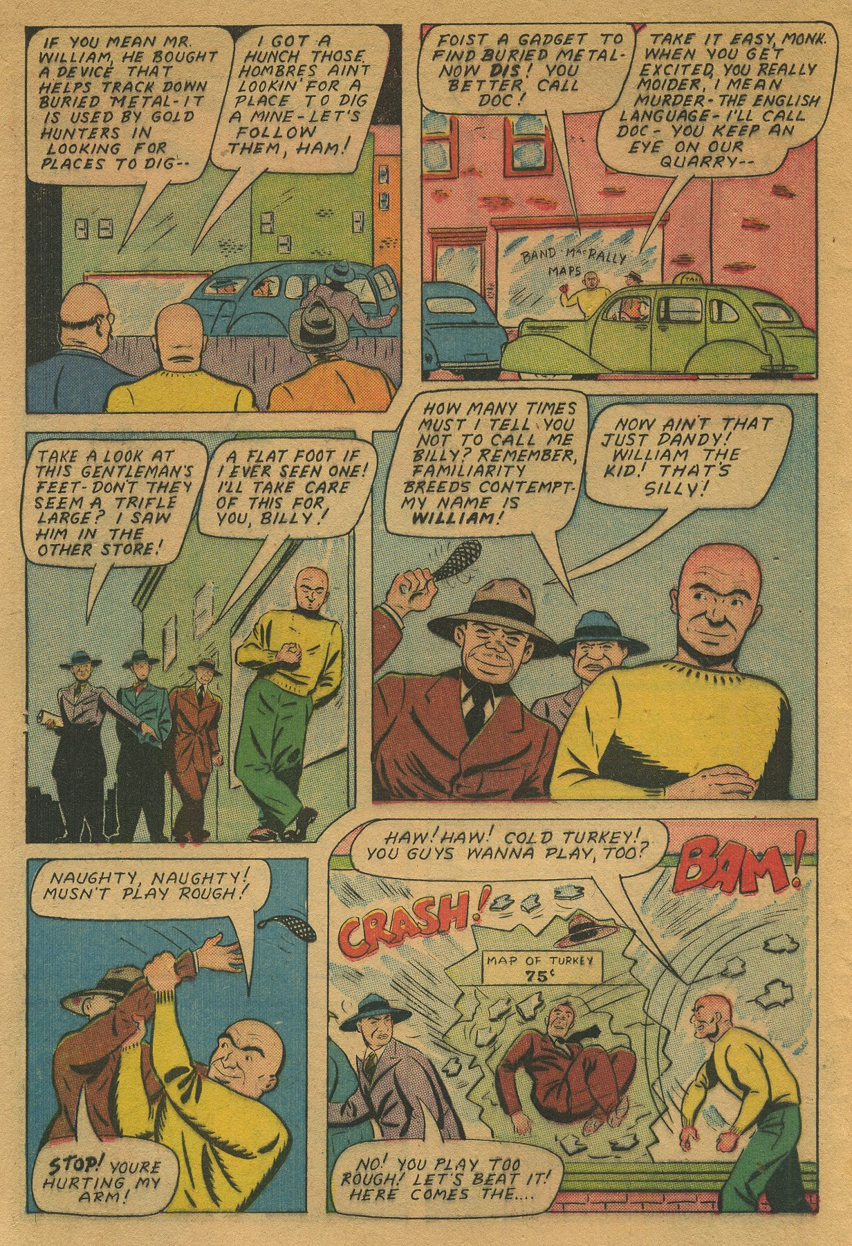 Read online Shadow Comics comic -  Issue #49 - 18