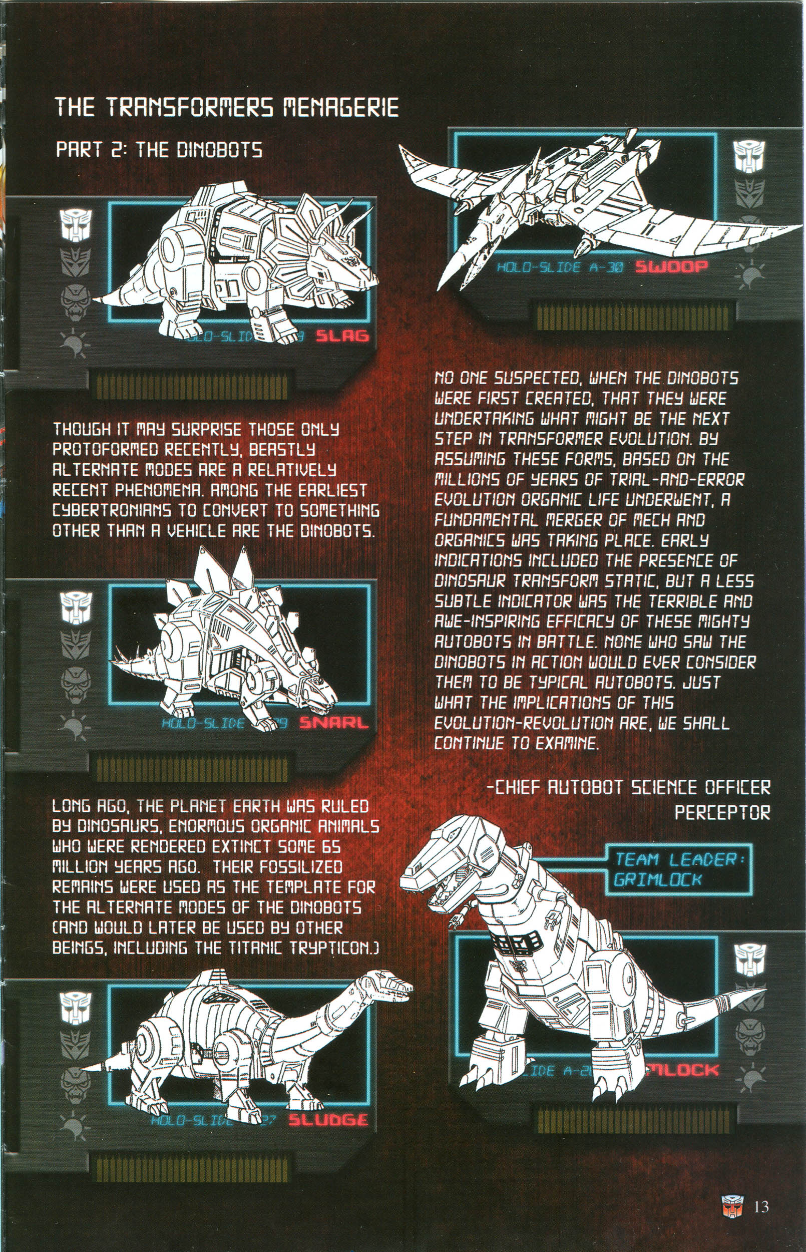 Read online Transformers: Collectors' Club comic -  Issue #50 - 13