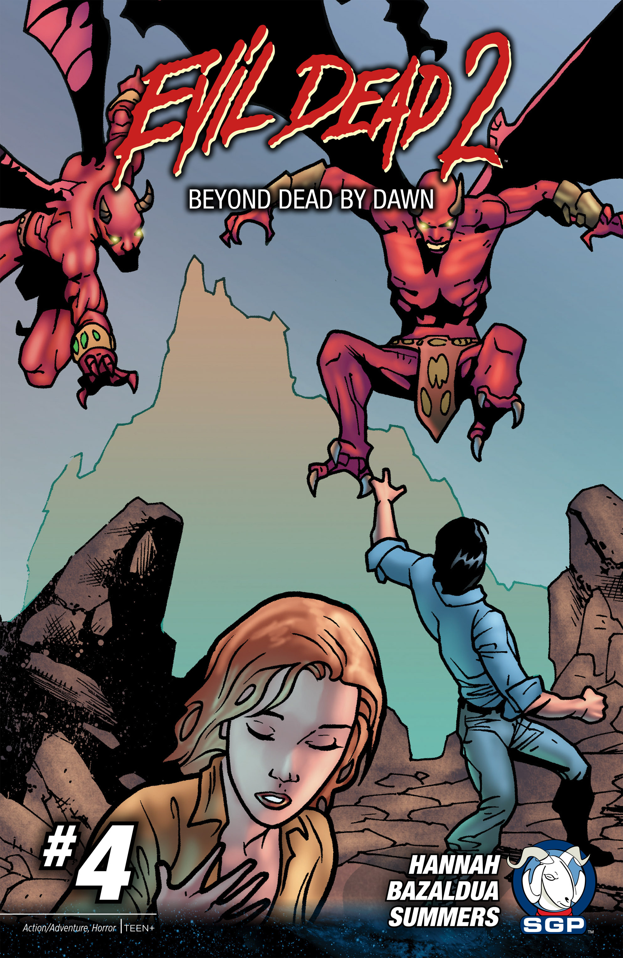 Evil Dead 2: Beyond Dead By Dawn 4 Page 1