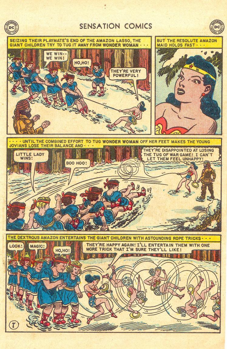 Read online Sensation (Mystery) Comics comic -  Issue #105 - 9