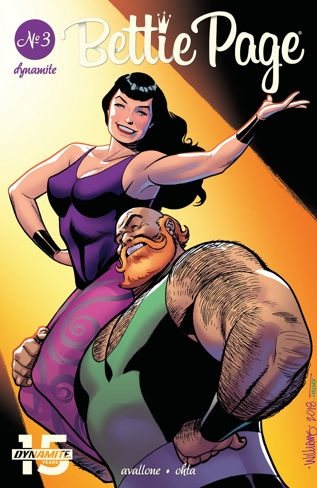 Read online Bettie Page (2018) comic -  Issue #3 - 3