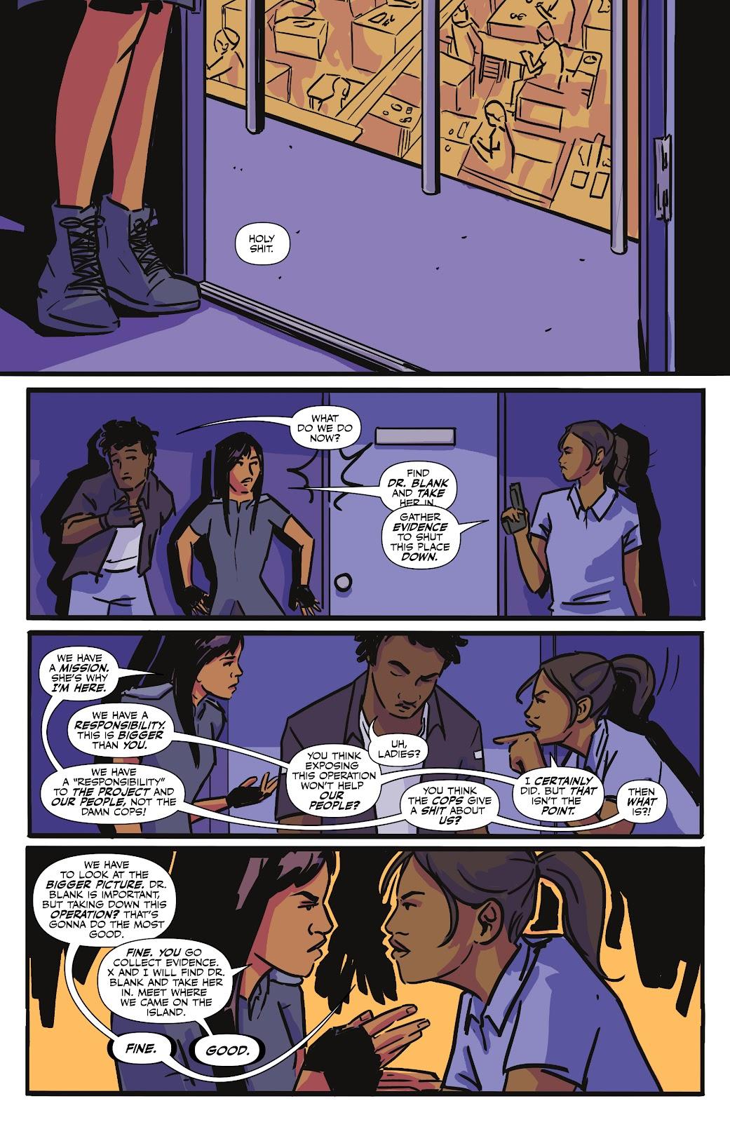 Read online Black (AF): Devil's Dye comic -  Issue #3 - 21