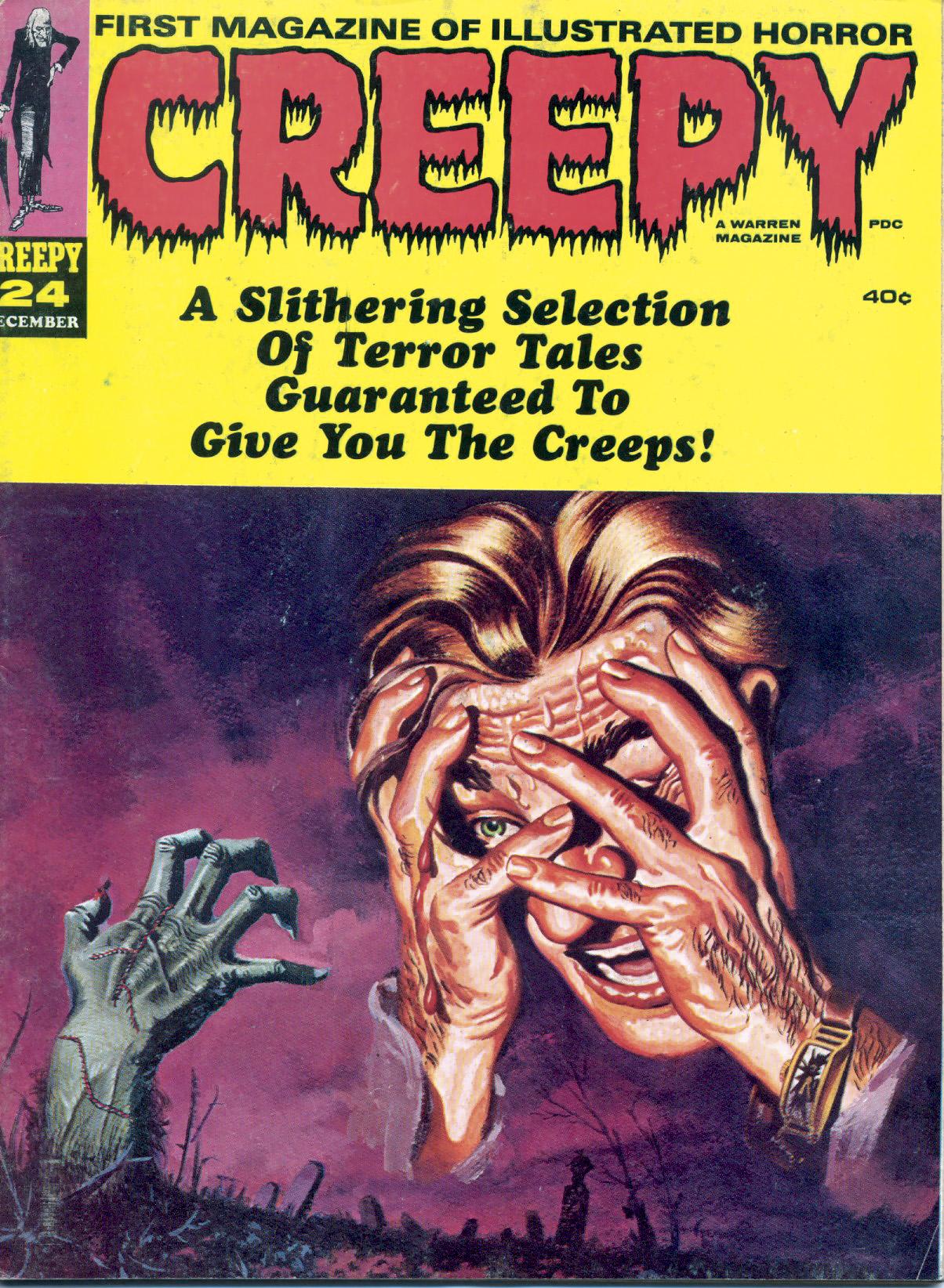 Creepy (1964) 24 Page 1