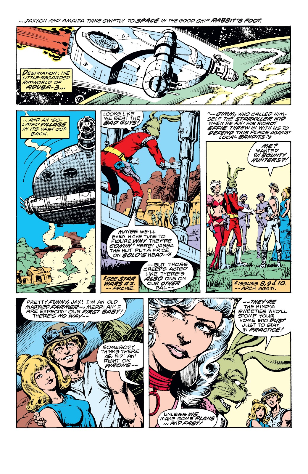 Read online Star Wars Legends: The Original Marvel Years - Epic Collection comic -  Issue # TPB 1 (Part 3) - 86